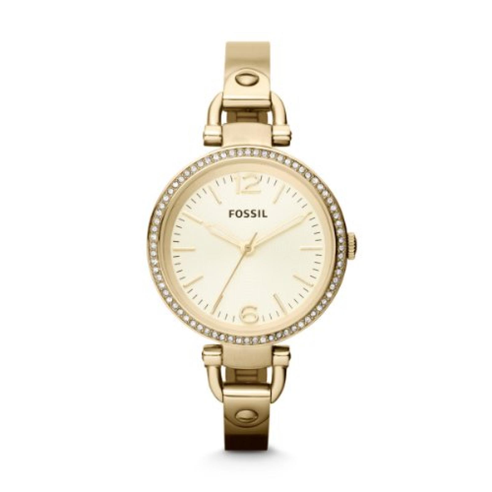 Fossil Damen-Armbanduhr XS Analog Quarz Edelstahl ES3227