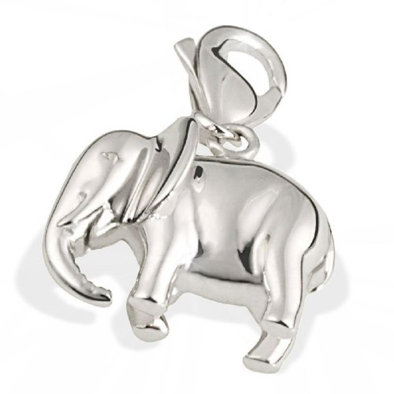 Goldmaid Damen-Charm Elefant 925 Sterlingsilber Ch A4118S