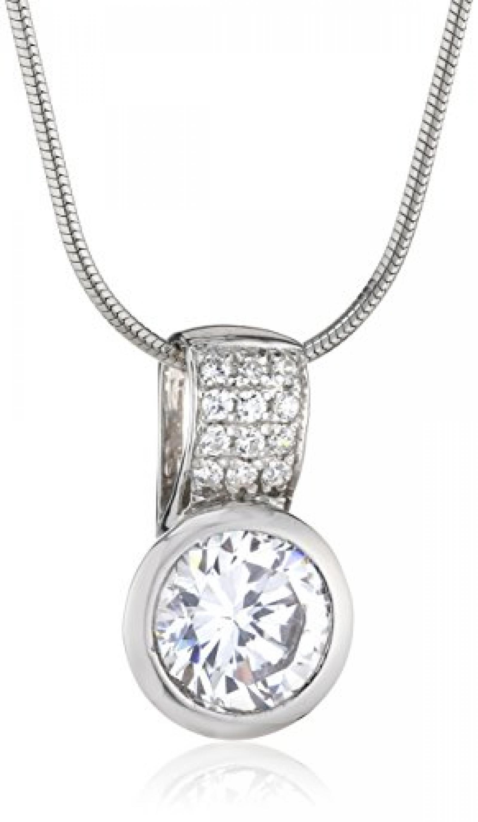 Celesta - Damenanhnger mit Kette aus 925er Sterling Silber 42-47cm lang 500243691L
