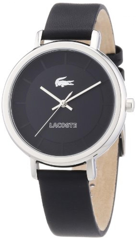 Lacoste Damen-Armbanduhr XS Analog Quarz Leder 2000717