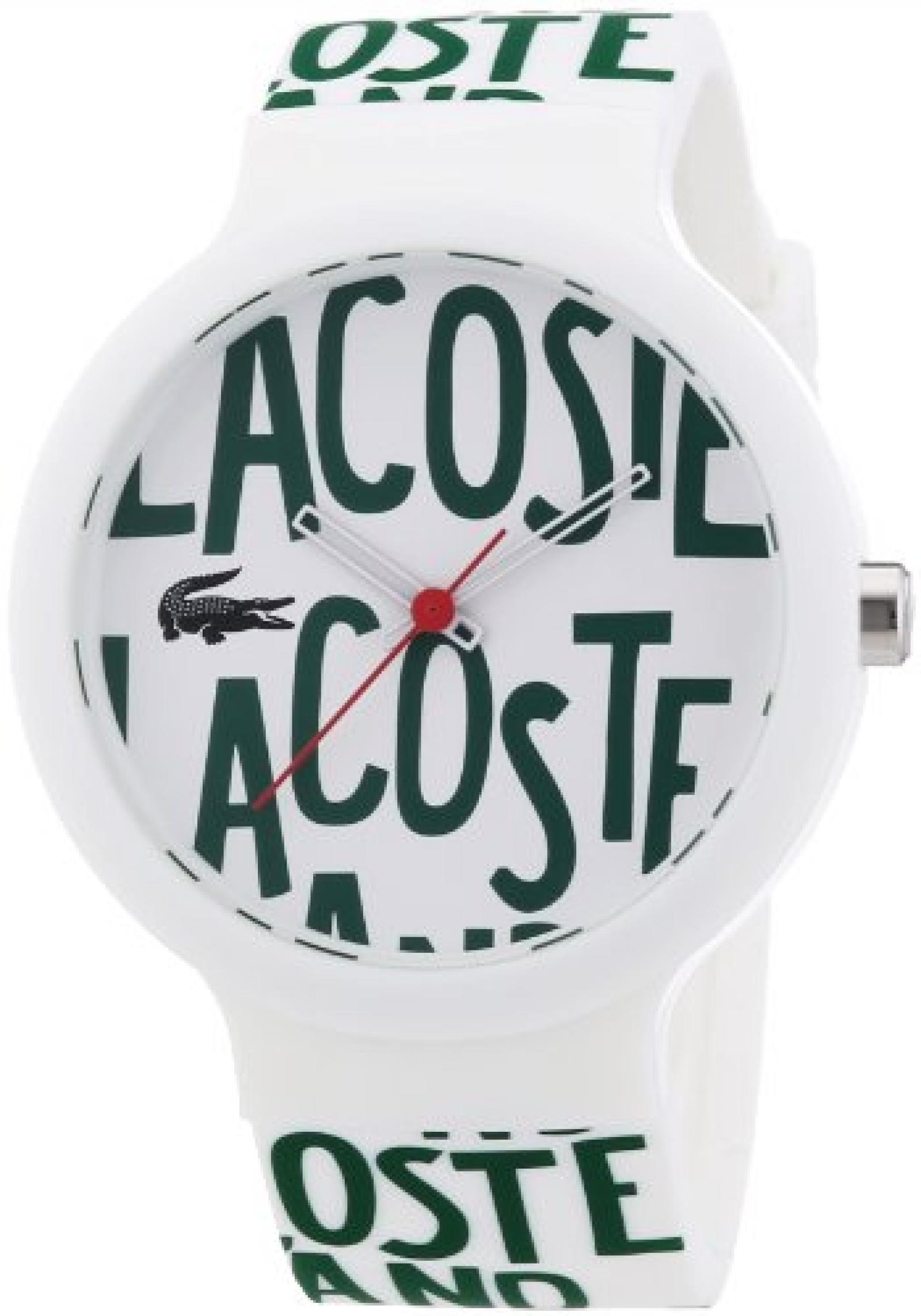 Lacoste Unisex-Armbanduhr Analog Quarz Silikon 2020055