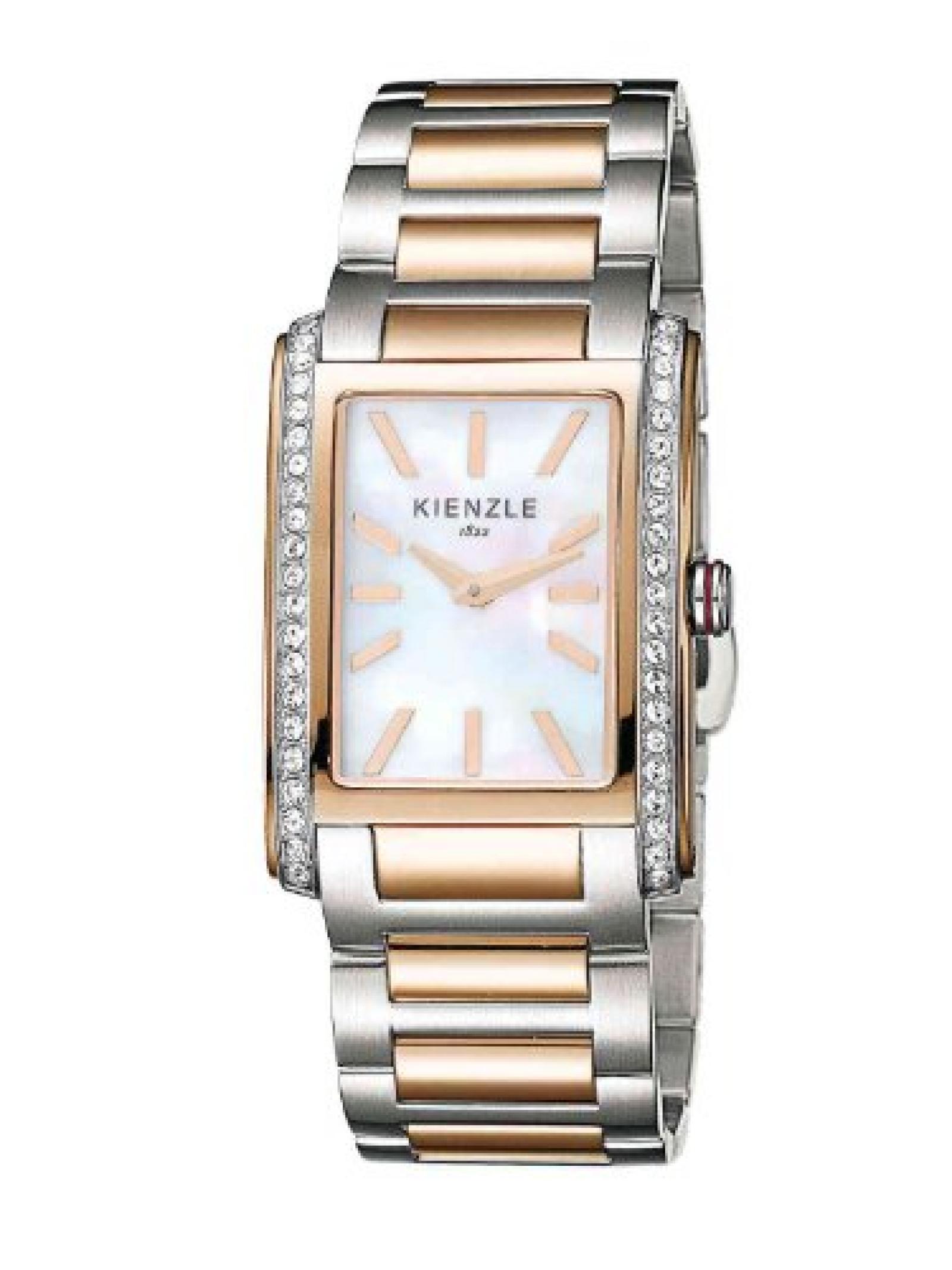Kienzle Damen-Armbanduhr Analog Edelstahl beschichtet K5072114042