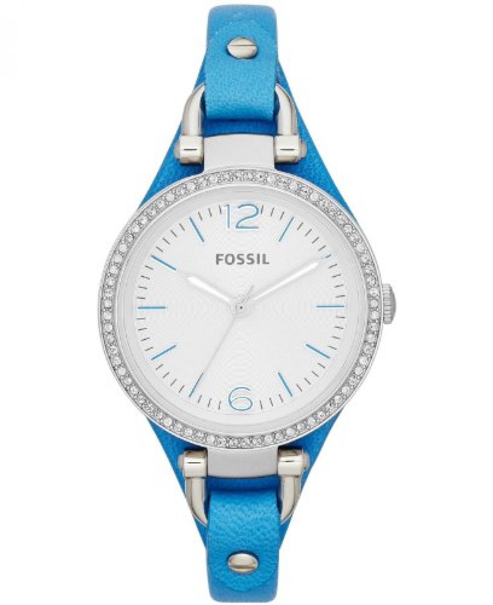 Fossil Damen-Armbanduhr Lederarmband 32mm ES3470