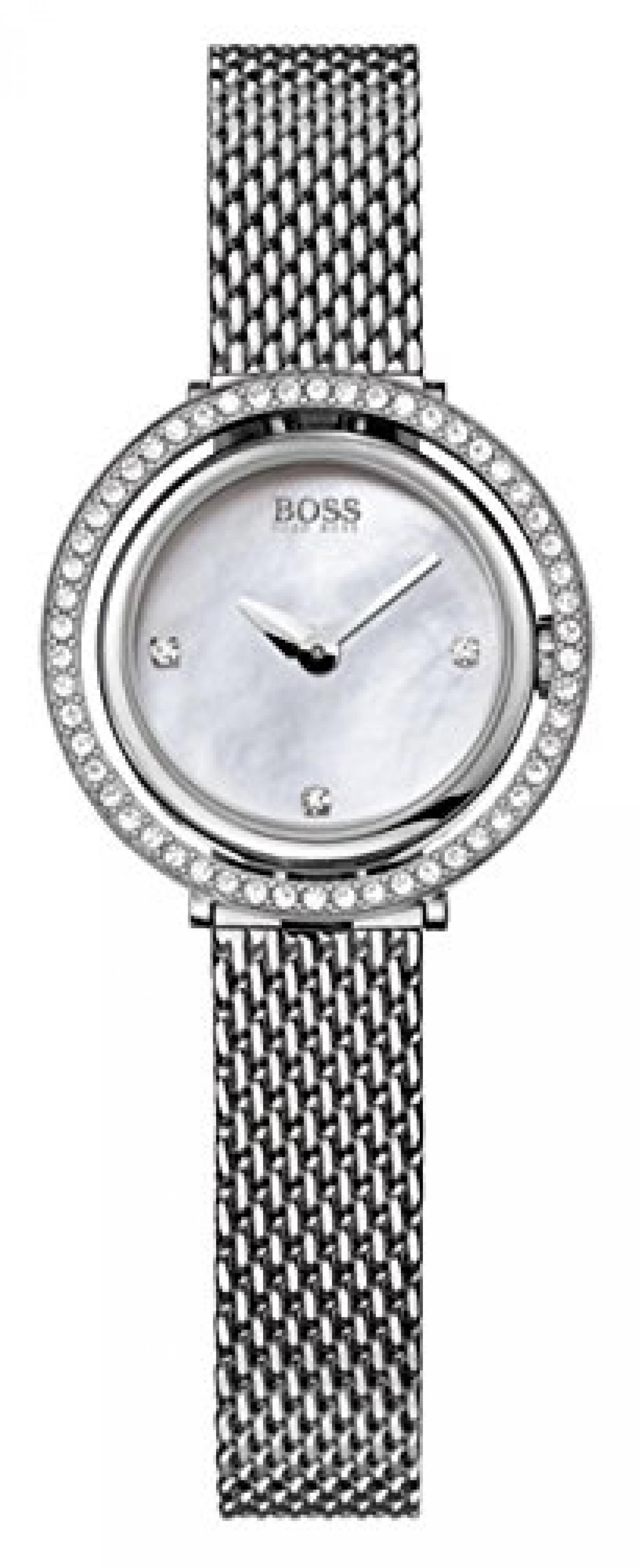 Hugo Boss Damen-Armbanduhr Analog Quarz Edelstahl 1502341