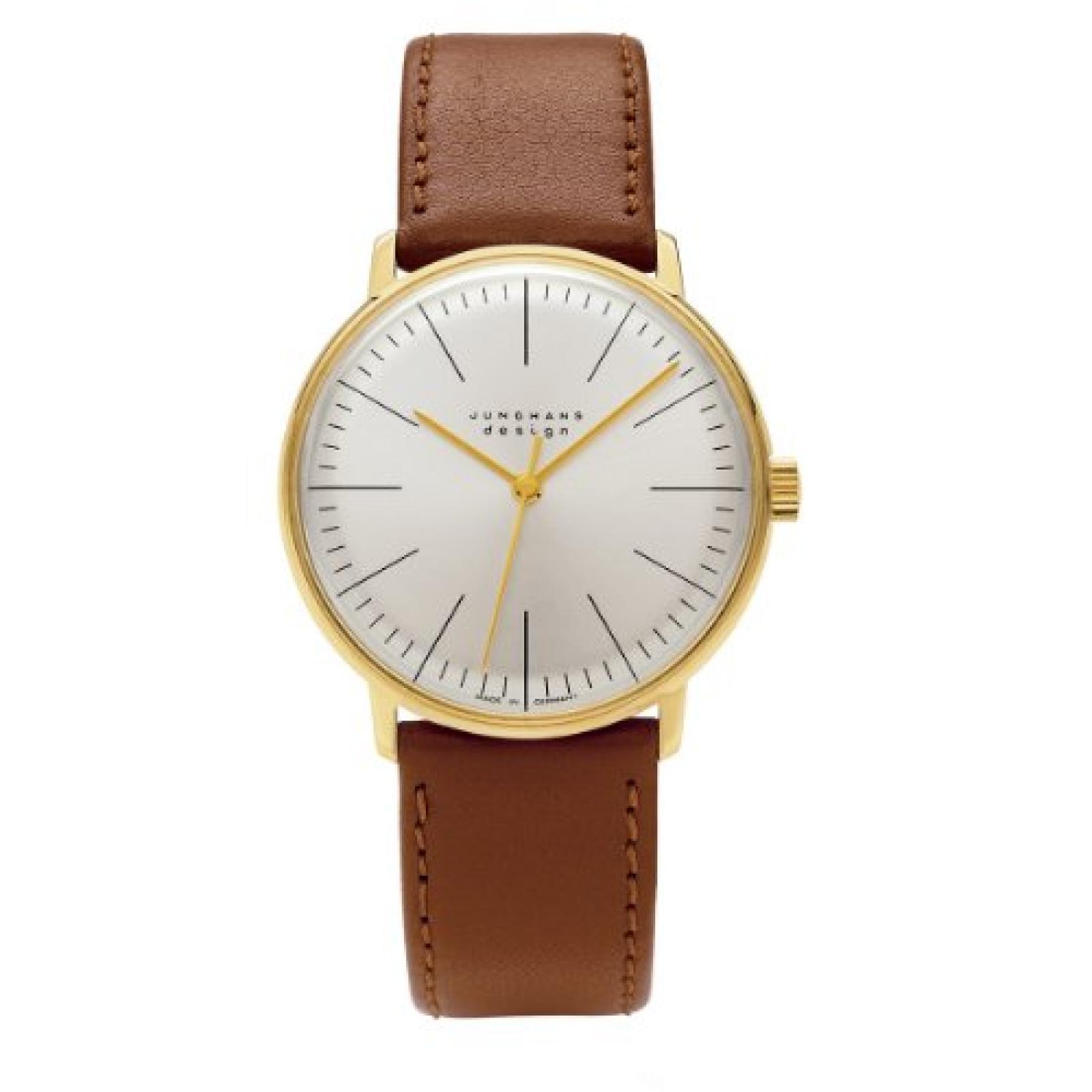 Junghans Herren-Armbanduhr Max Bill Analog Handaufzug 027/5703.00