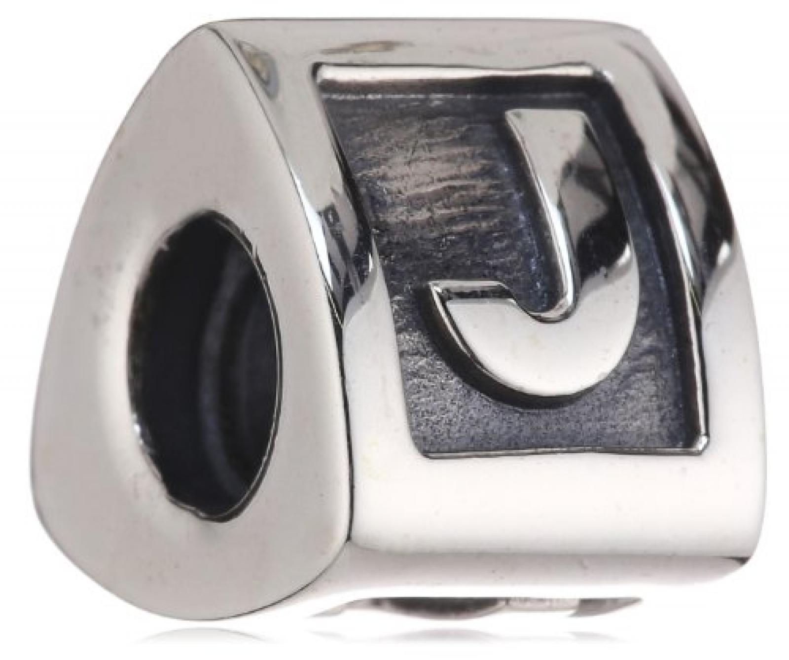 "Pandora Damen-Bead  Sterling-Silber 925 Buchstabenelement ""J"" KASI 79323-J"