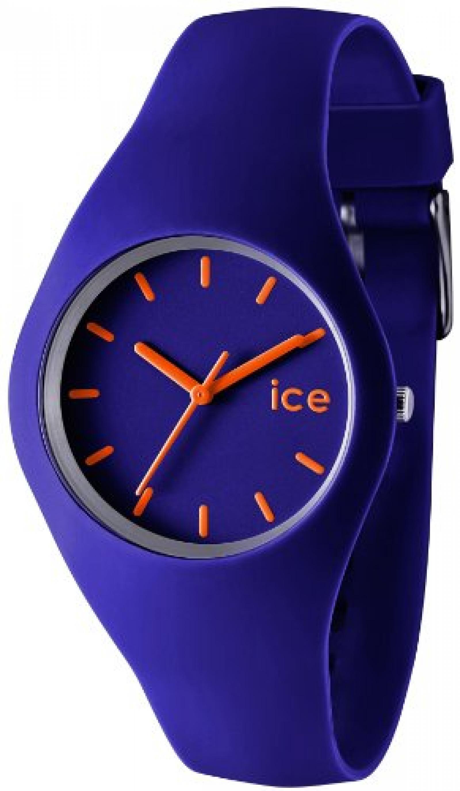 Ice-Watch Damen-Armbanduhr Ice-Slim blau ICE.BE.U.S.12