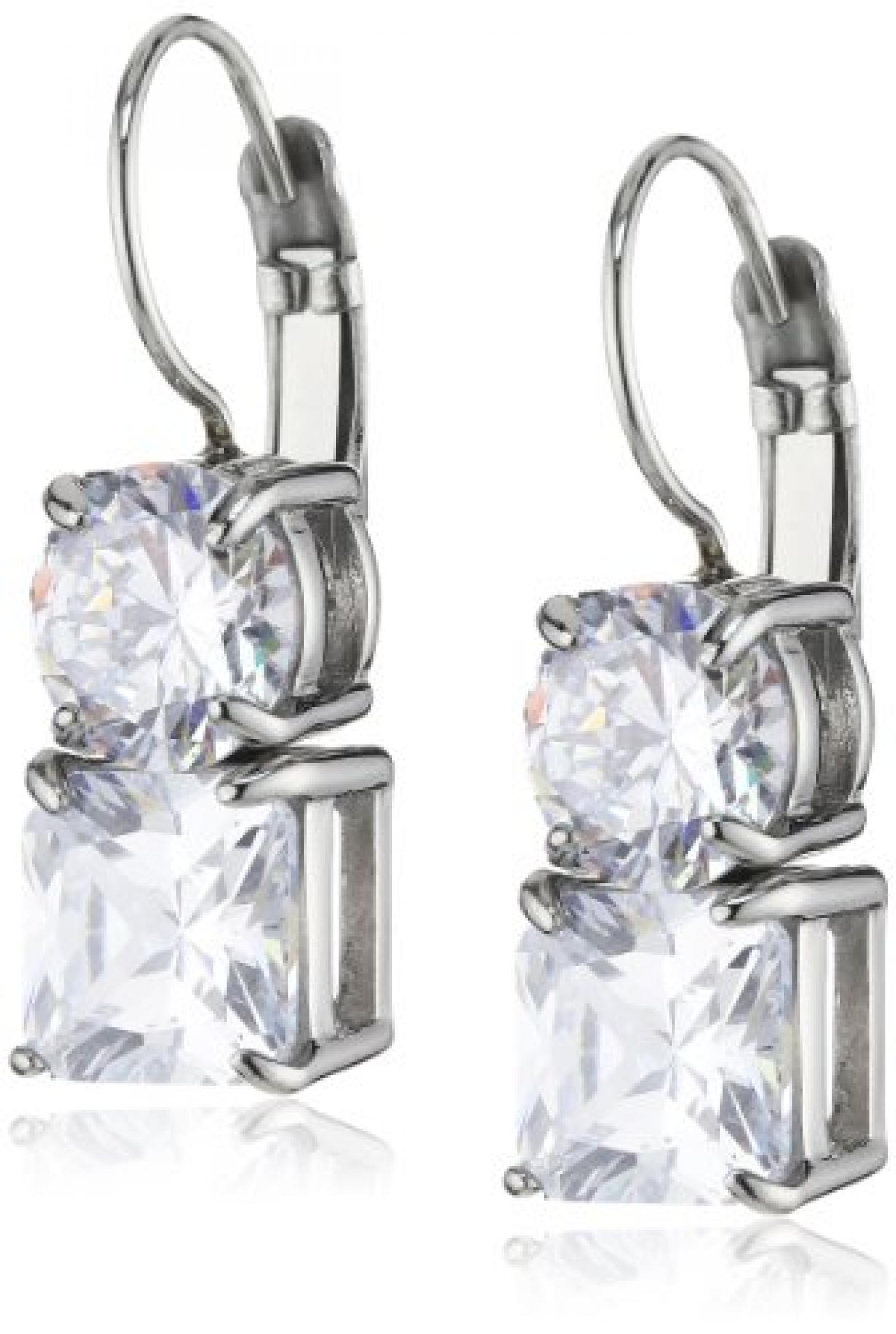Dyrberg/Kern Damen-Ohrhänger Edelstahl Kristall 335285