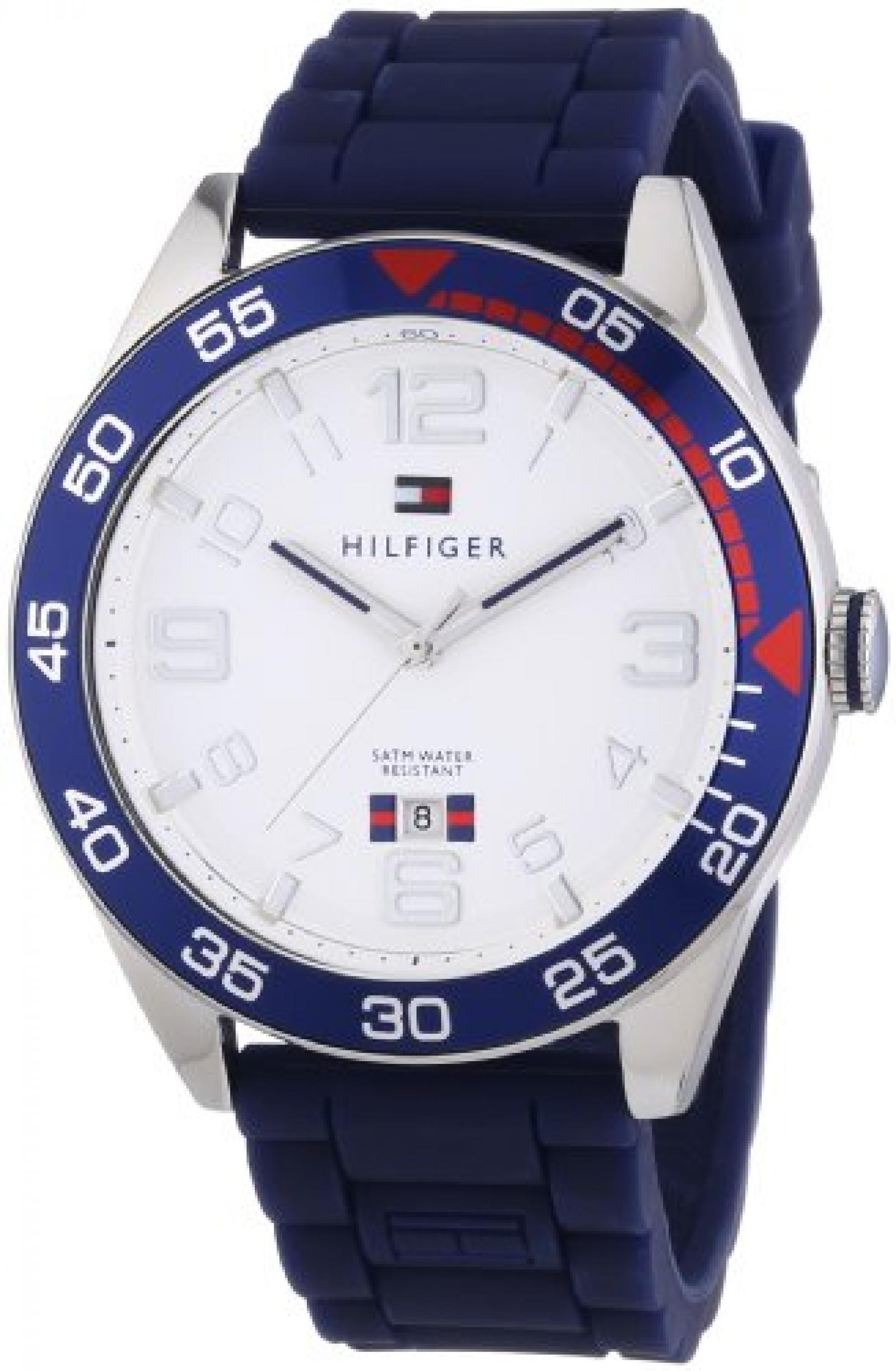 Tommy Hilfiger Herren-Armbanduh XL Cal Cool Sport Analog Quarz 1790977
