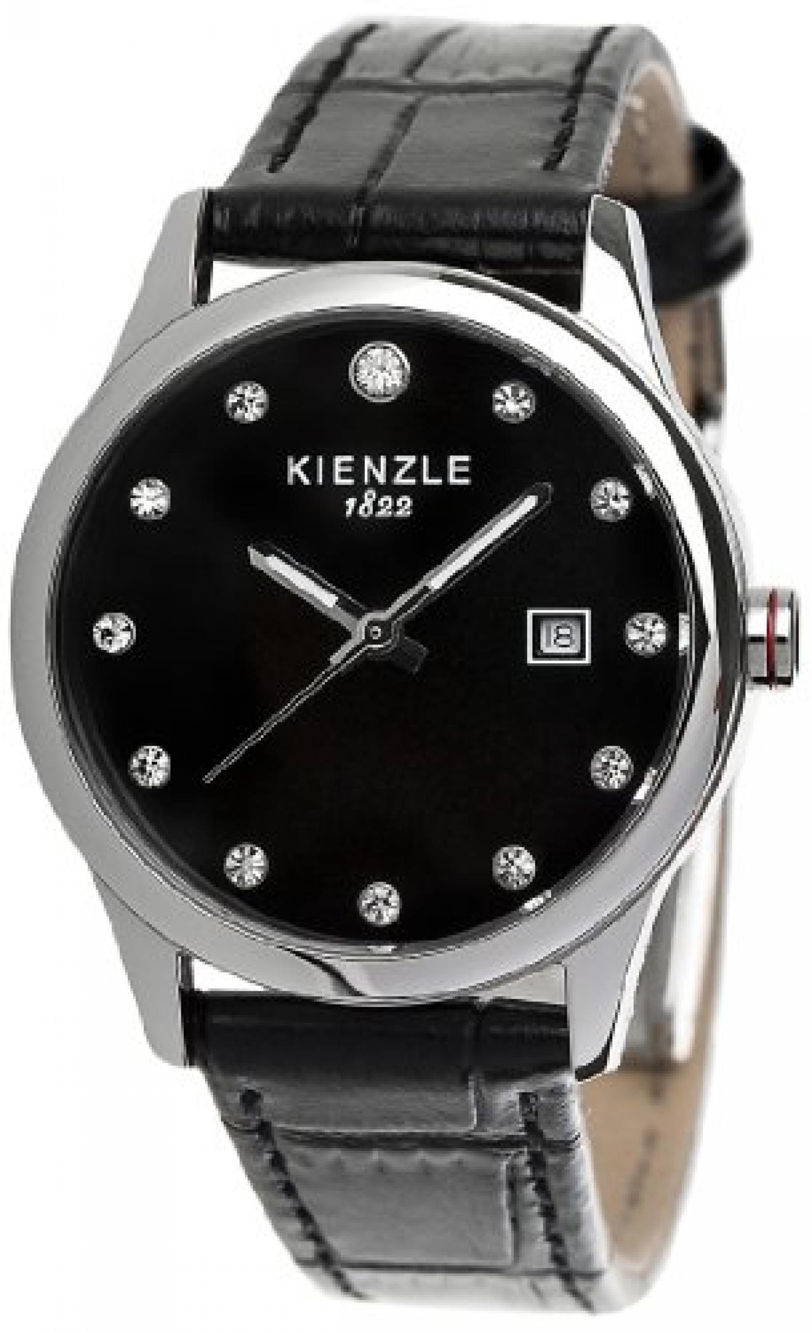 Kienzle Damen-Armbanduhr XS KIENZLE CORE Analog Quarz Lederarmband K3042014261-00371