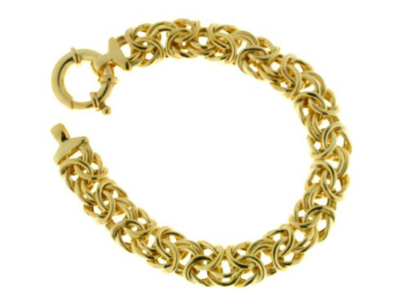 BOB C. Damen-Armband Königs vergoldet Sterling-Silber 925 KN 48361/91/21