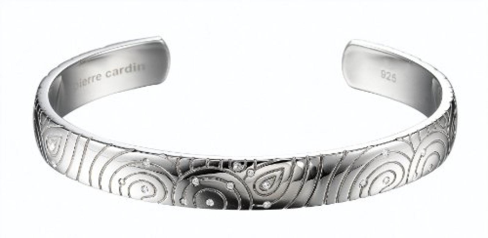Pierre Cardin Damen-Armband Dedale Sineuse Sterling-Silber 925 60 Millimeters PCBA-90036.A.60