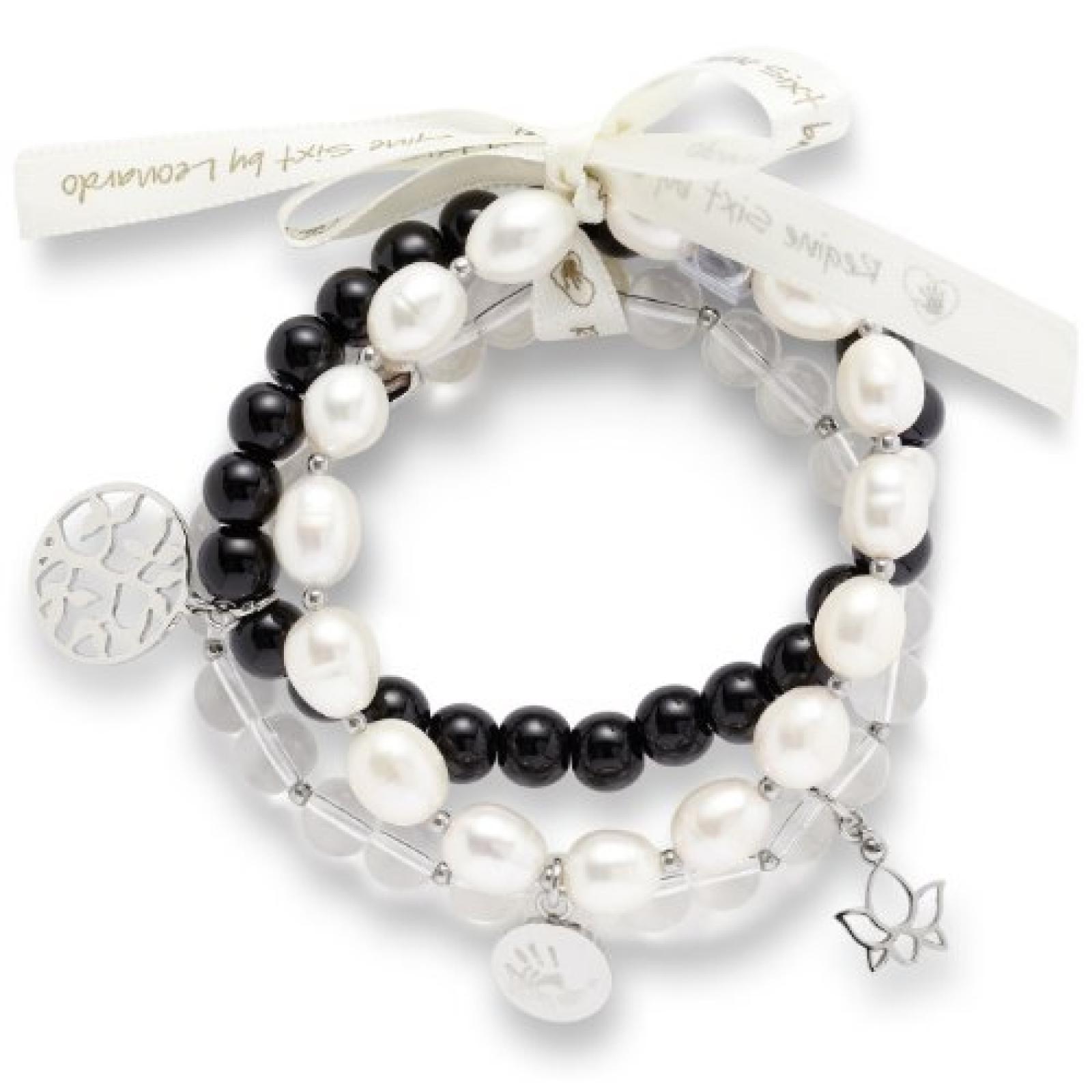 Leonardo Jewels Damen-Armband Edelstahl 014231
