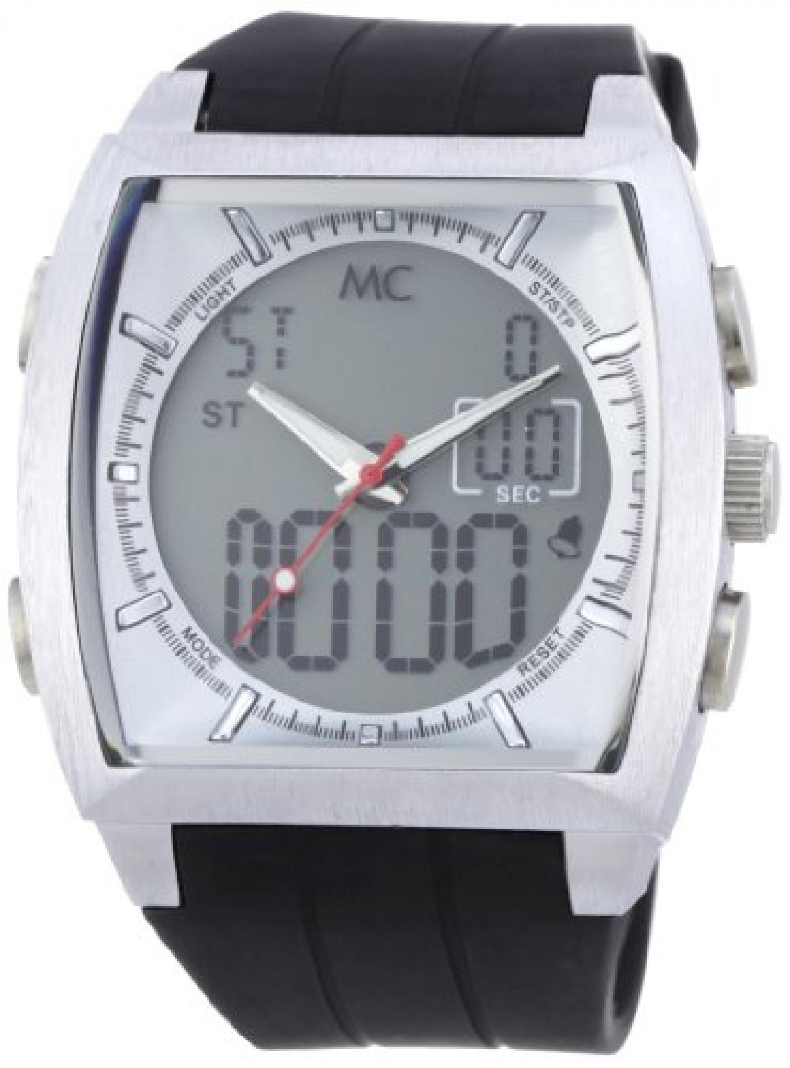 MC Timetrend Herren-Armbanduhr Analog - Digital Quarz Kunststoff 30402