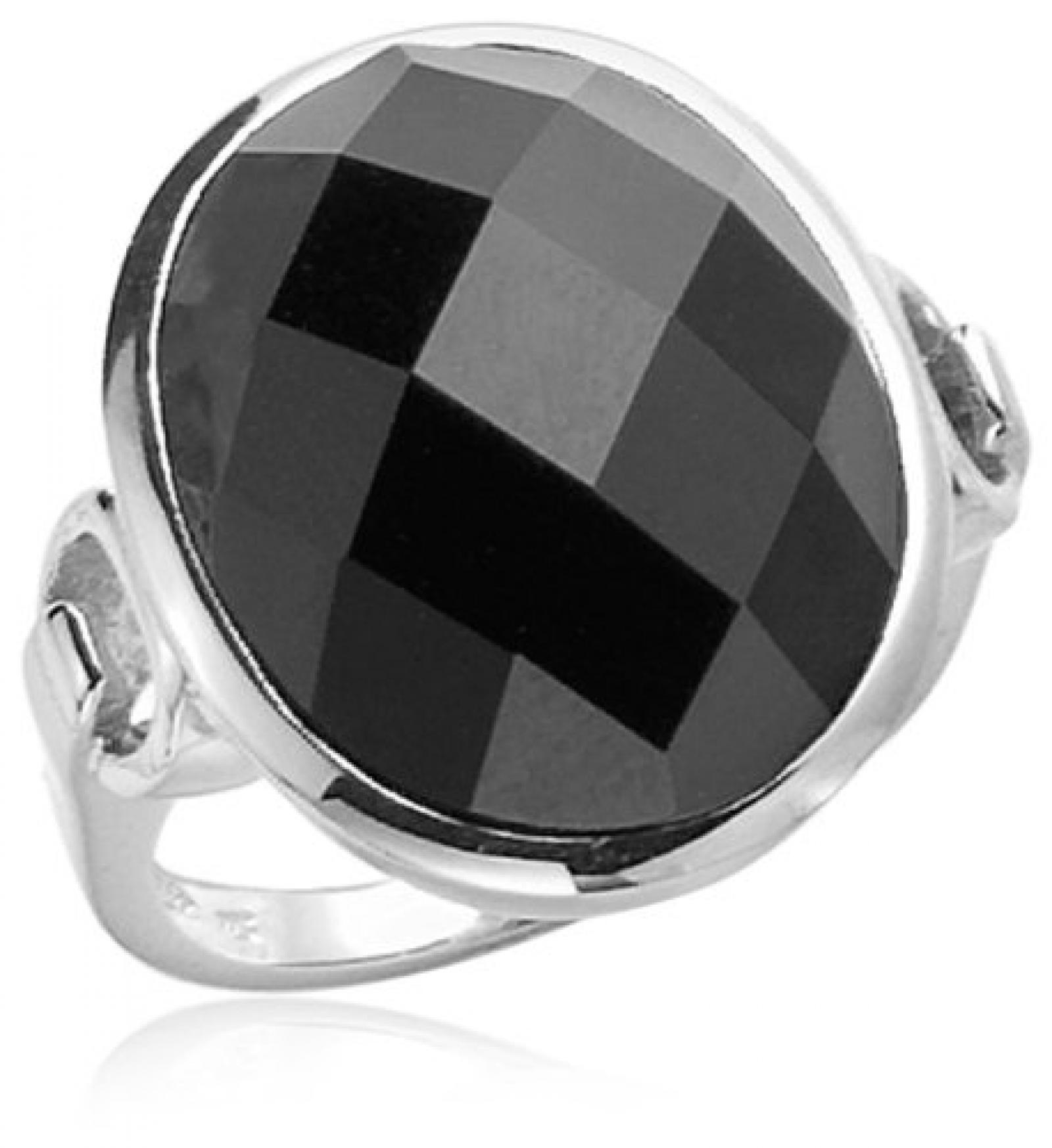 Celesta Damen-Ring 925 Sterlingsilber synth. Onyx Gr. 56 (17.8) 360270916056