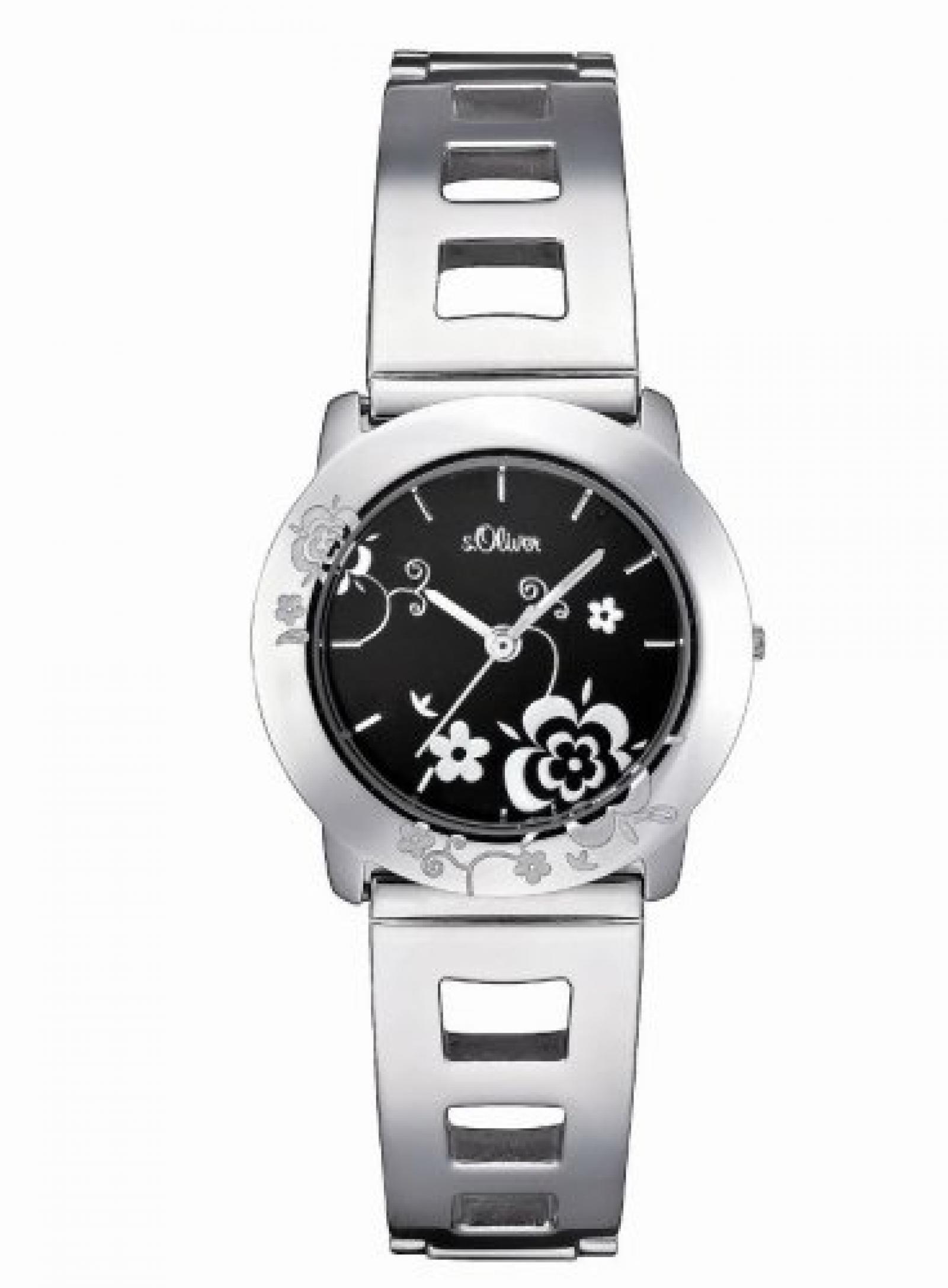 s.Oliver Damen-Armbanduhr SO-1388-MQ