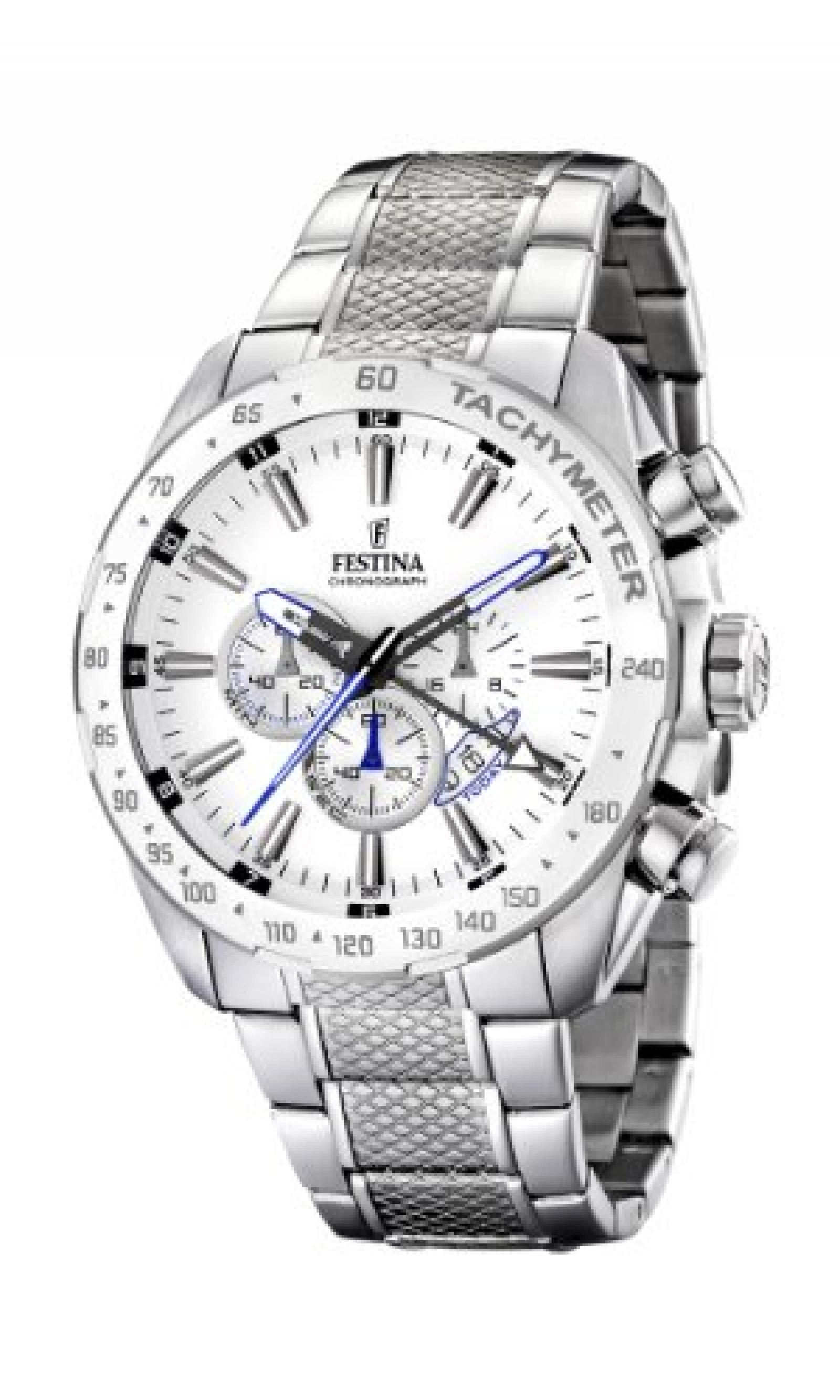Festina Herren-Armbanduhr XL Analog Edelstahl F16488/1