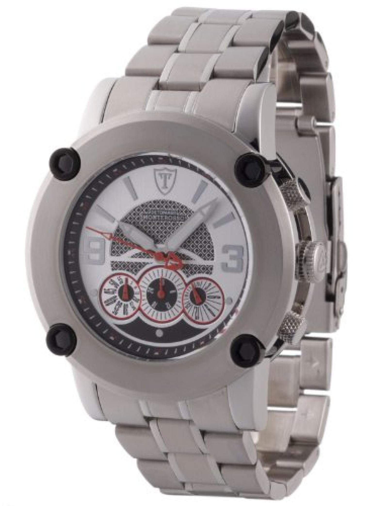 Detomaso Classic Herren-Armbanduhr Monterosso Chronograph Edelstahl
