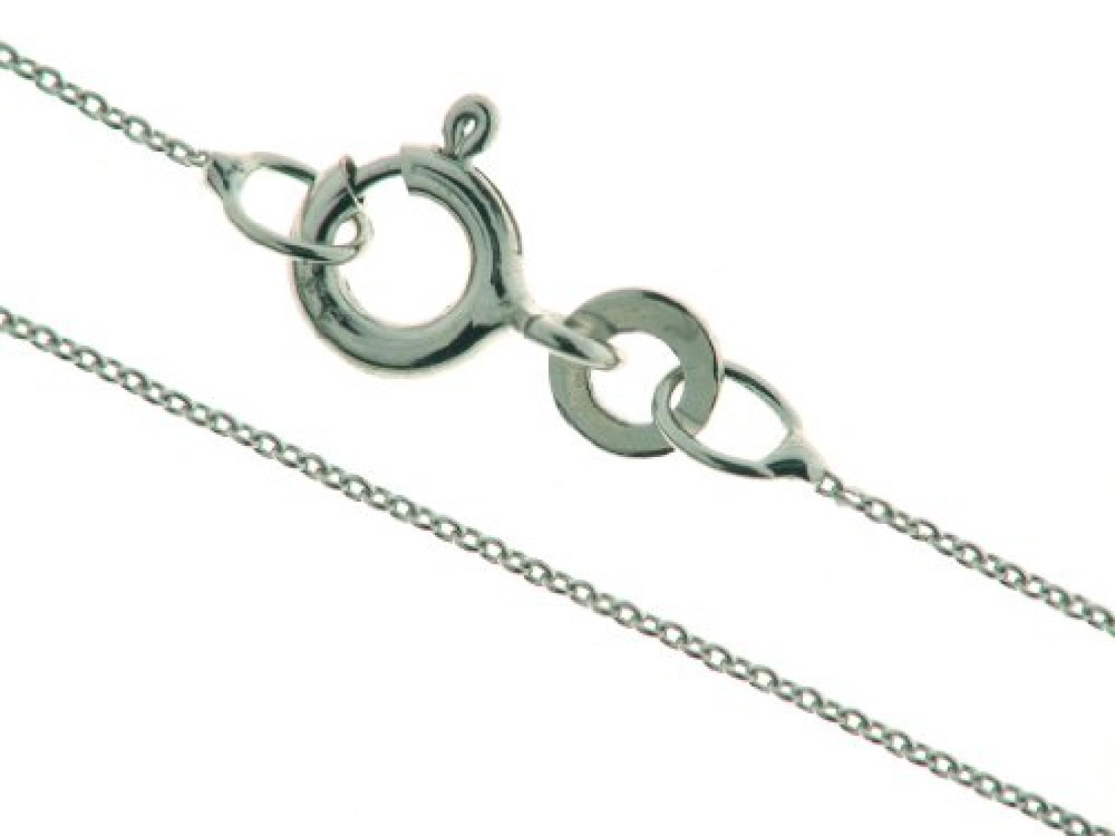 BOB C. Damen Halskette 8 Karat (333) Weißgold 45.0 cm 332841