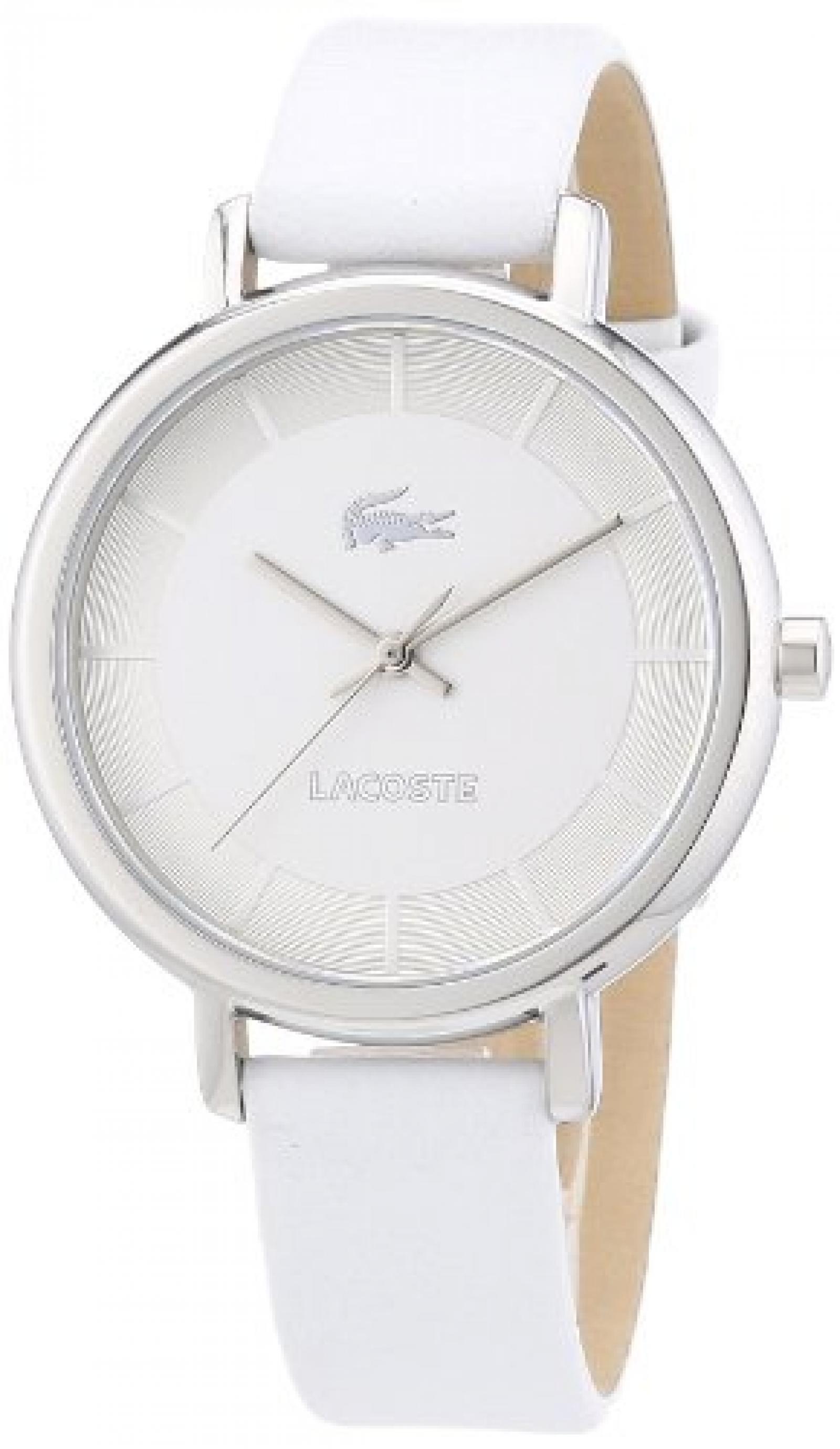 Lacoste Damen-Armbanduhr XS Analog Quarz Leder 2000716