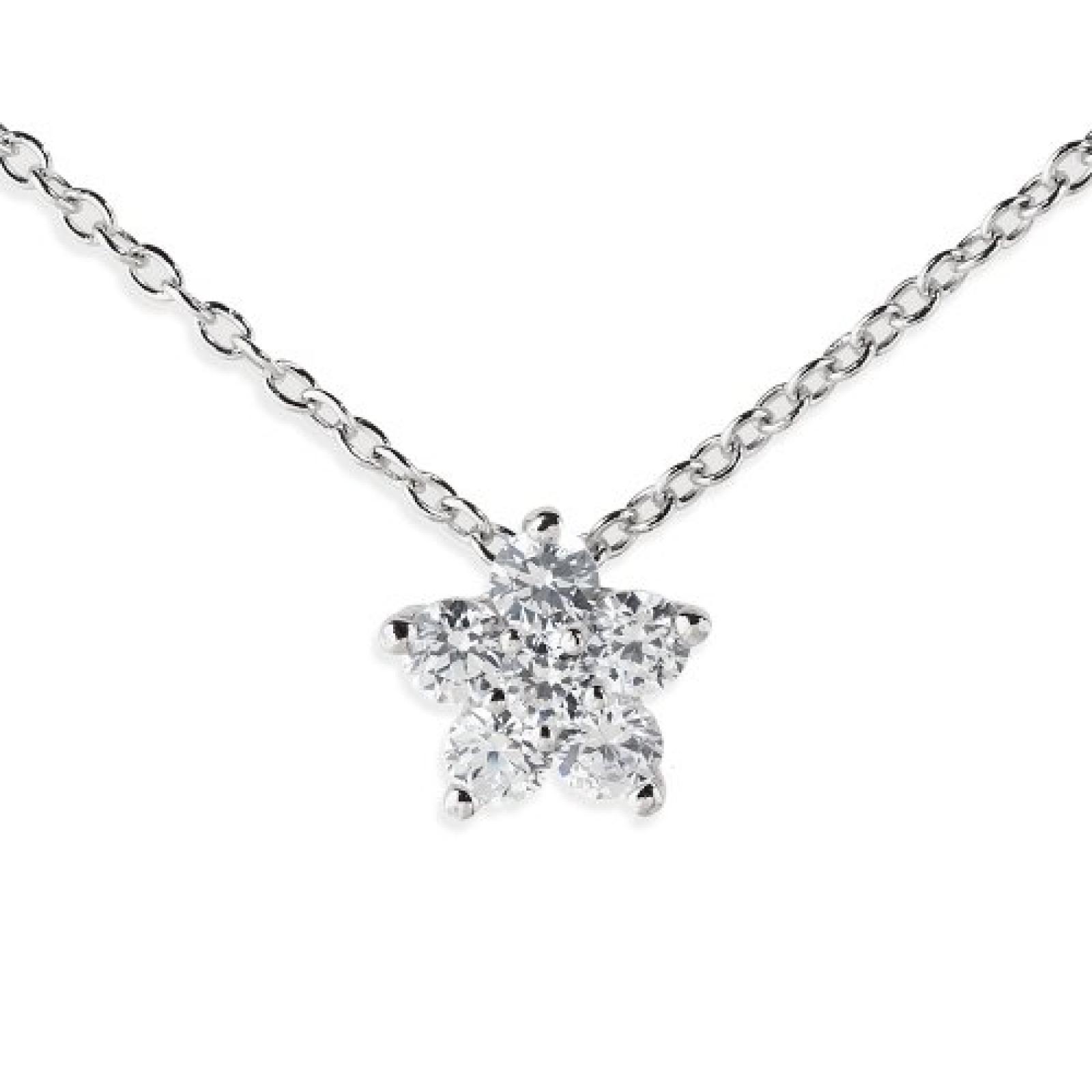 Amor Jewelry Damen-Halskette 925 Sterling Silber 373890