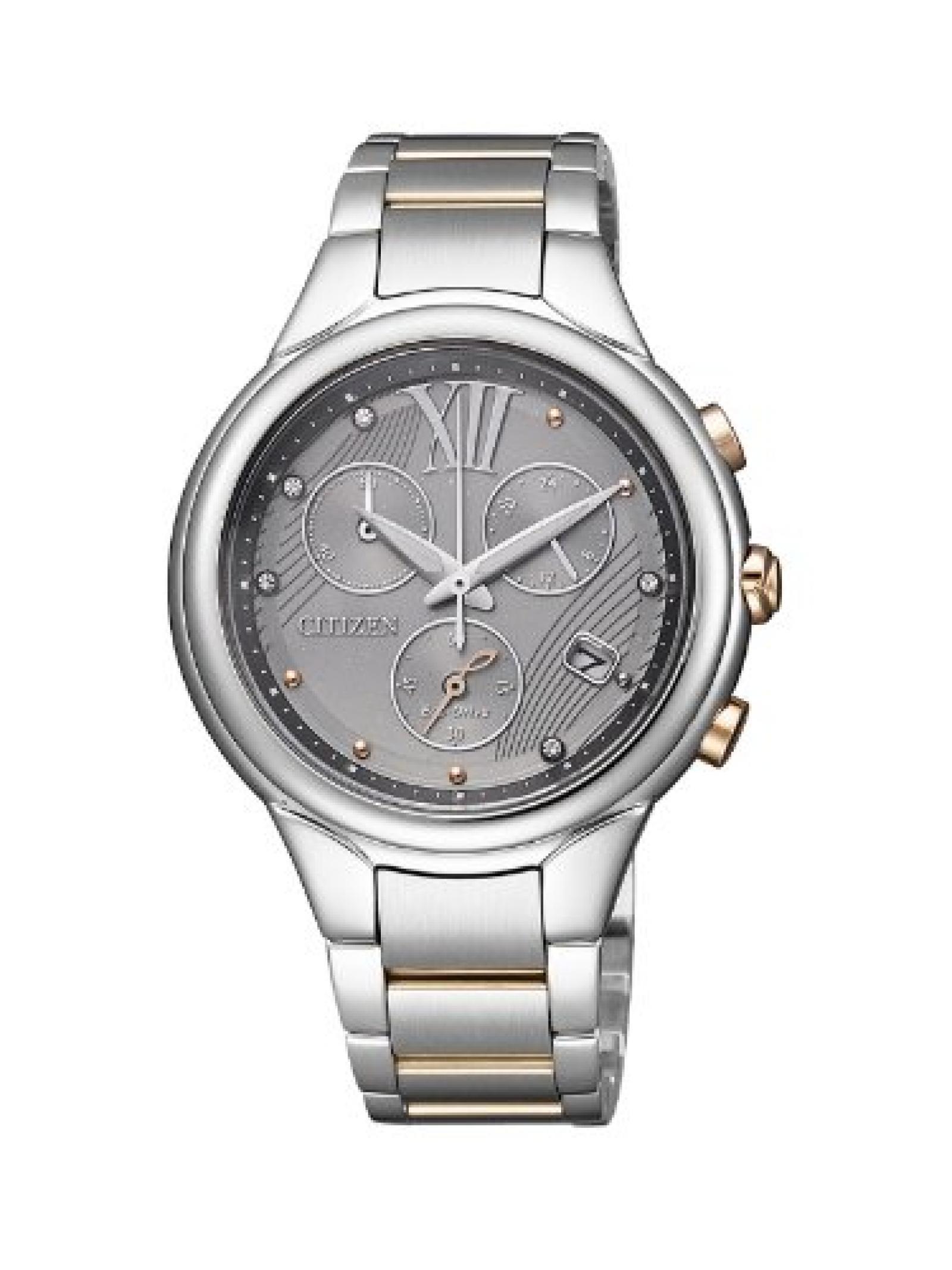 Citizen Damen-Armbanduhr L Analog Quarz Edelstahl FB1315-59H