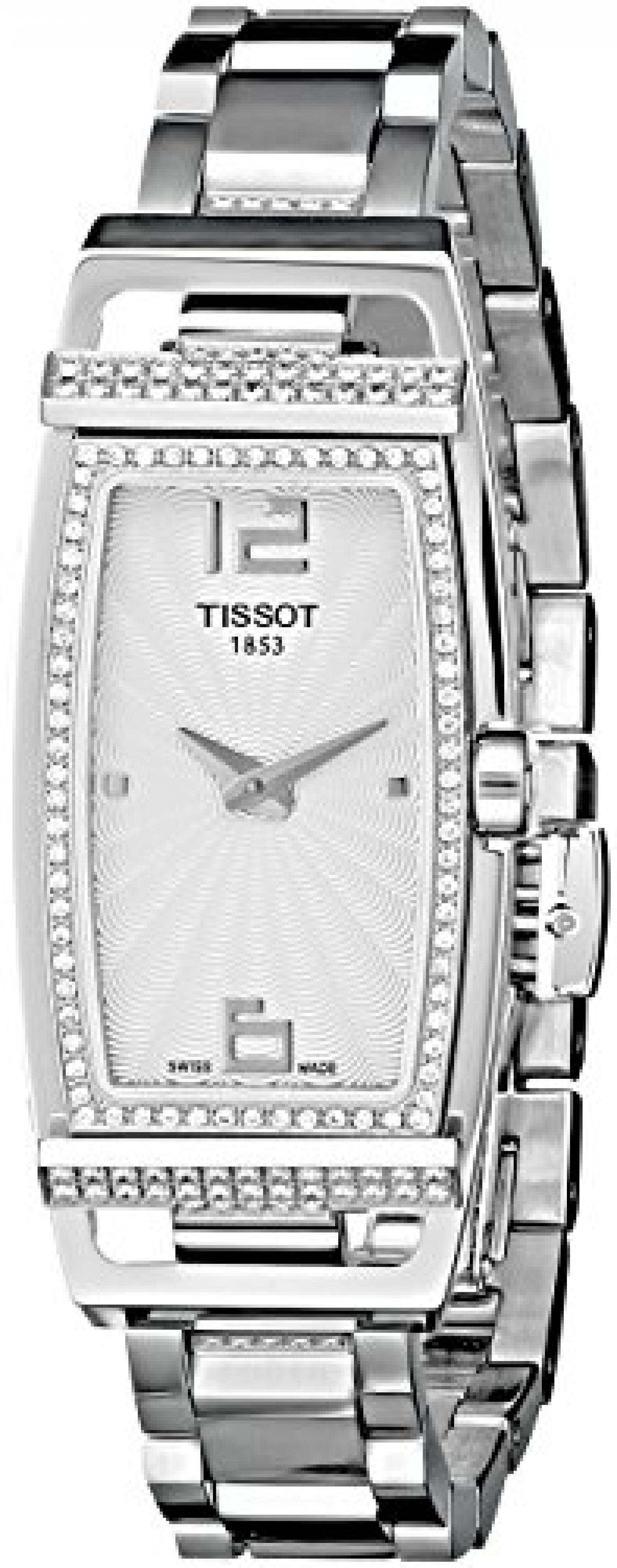 Tissot Damen-Armbanduhr MY-T TONNEAU TT0373091103701