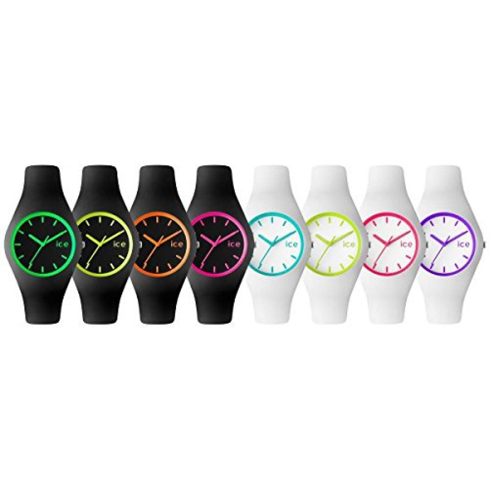 Ice Watch Crazy Unisex Farben farbiges Zifferblatt Armband Uhr