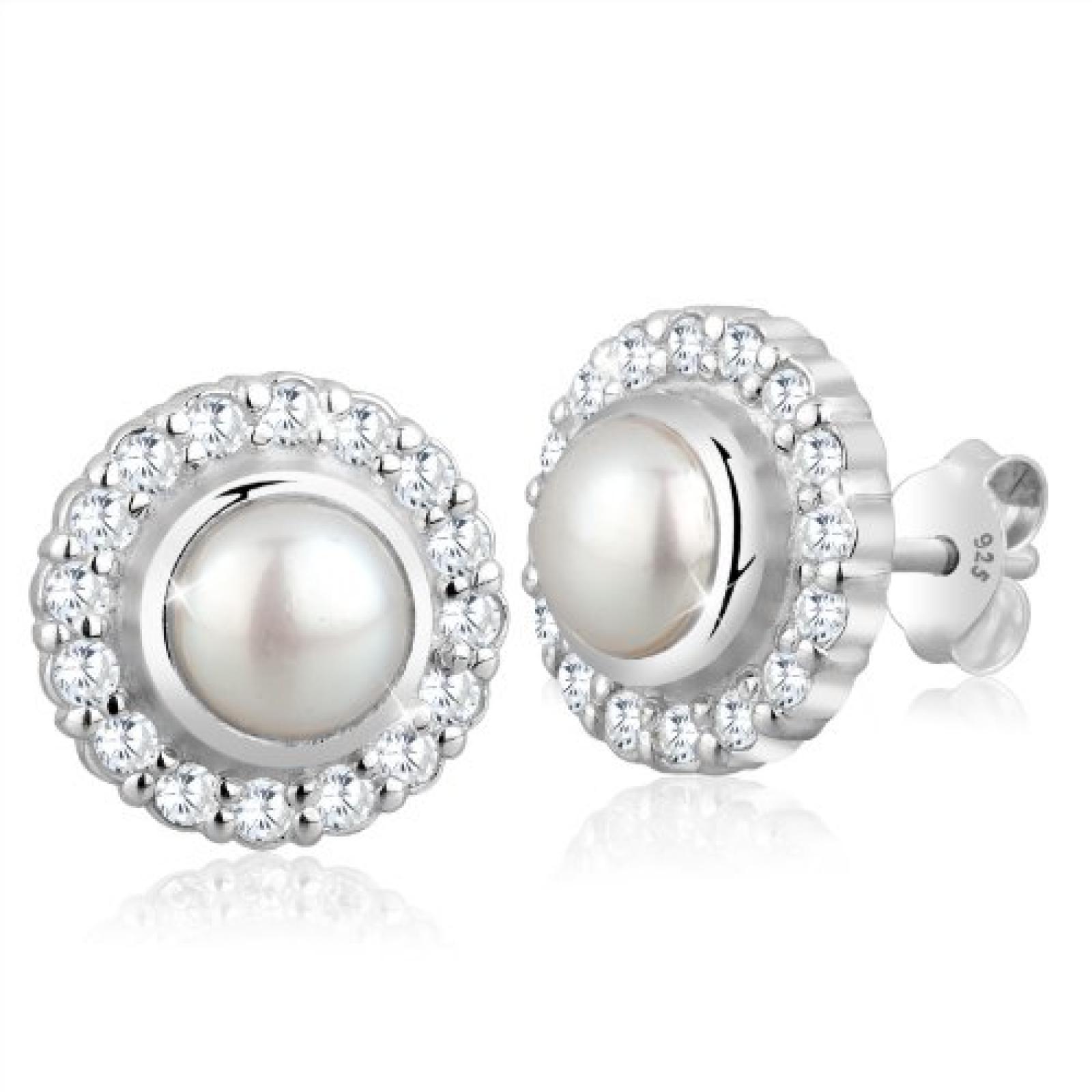 Elli Damen-Ohrstecker 925 Sterling Silber 0309281012