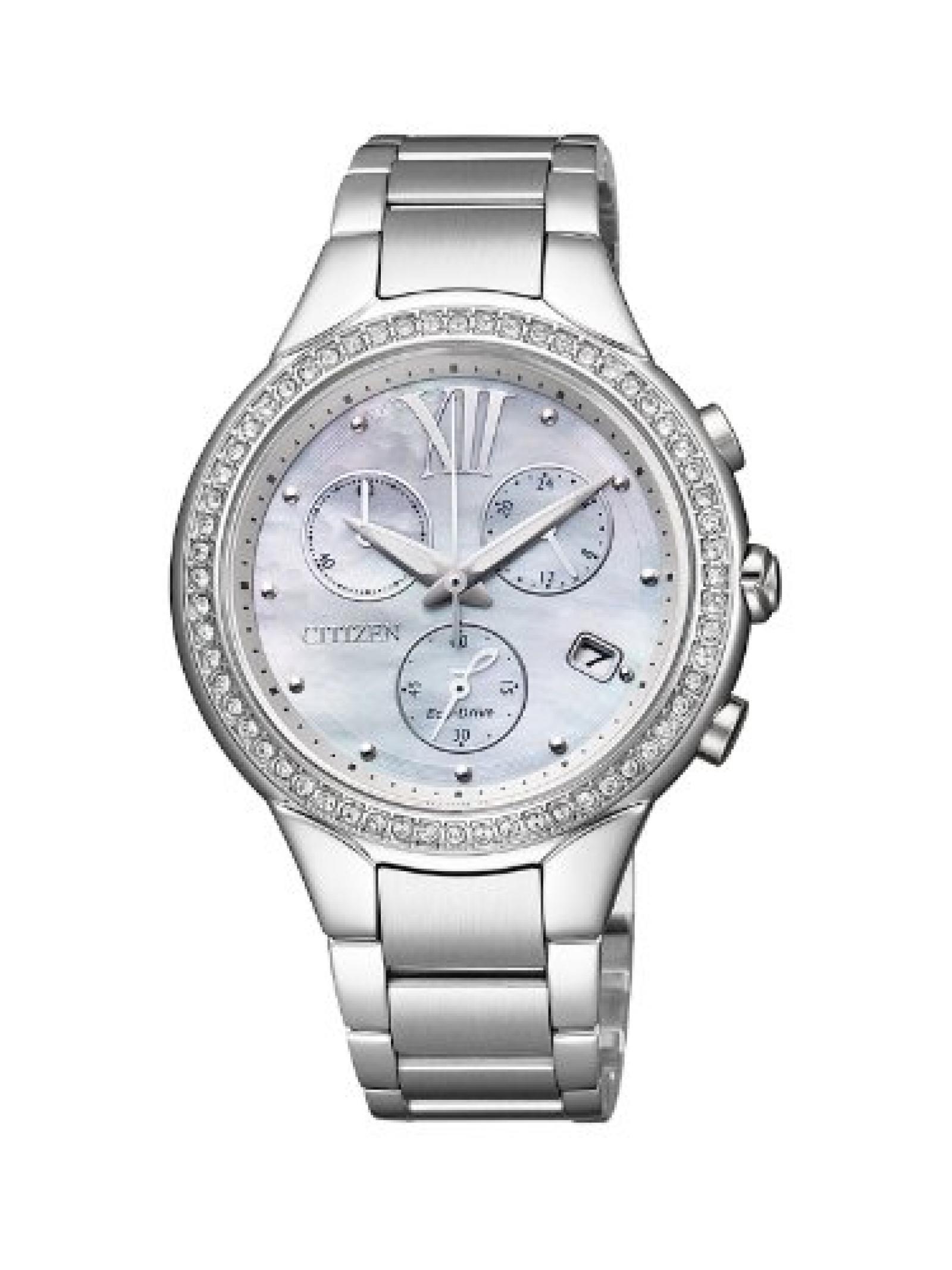 Citizen Damen-Armbanduhr L Analog Quarz Edelstahl FB1321-56A