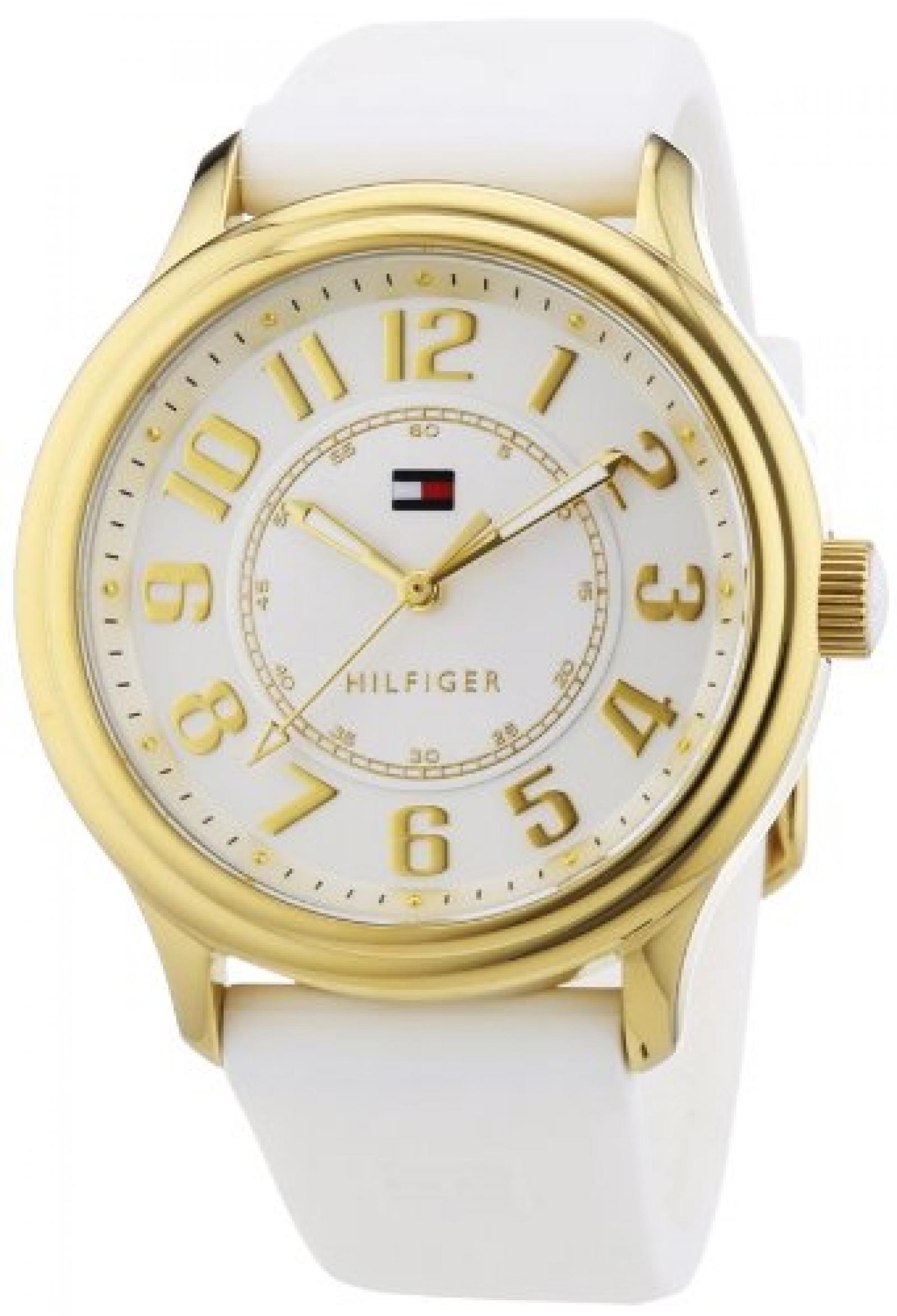 Tommy Hilfiger Watches Damen-Armbanduhr Analog Quarz Silikon 1781288