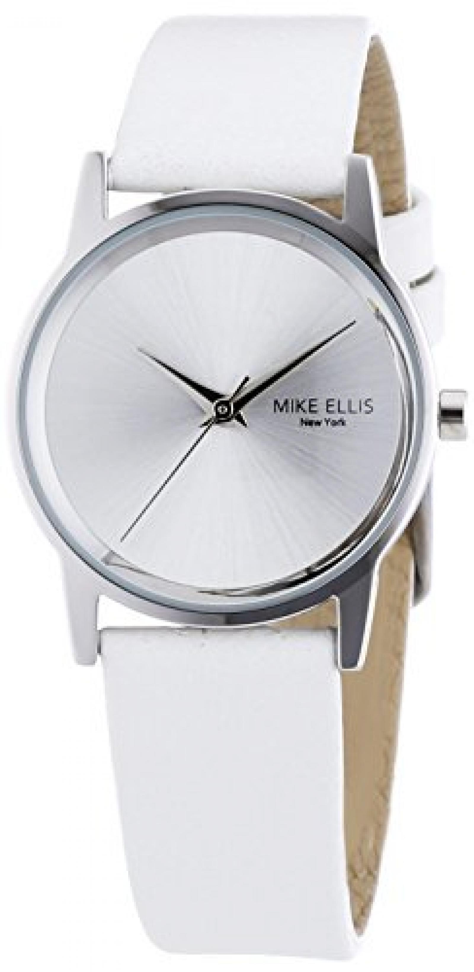 Mike Ellis New York Damen-Armbanduhr XS AW Analog Quarz Leder SL4-60230C