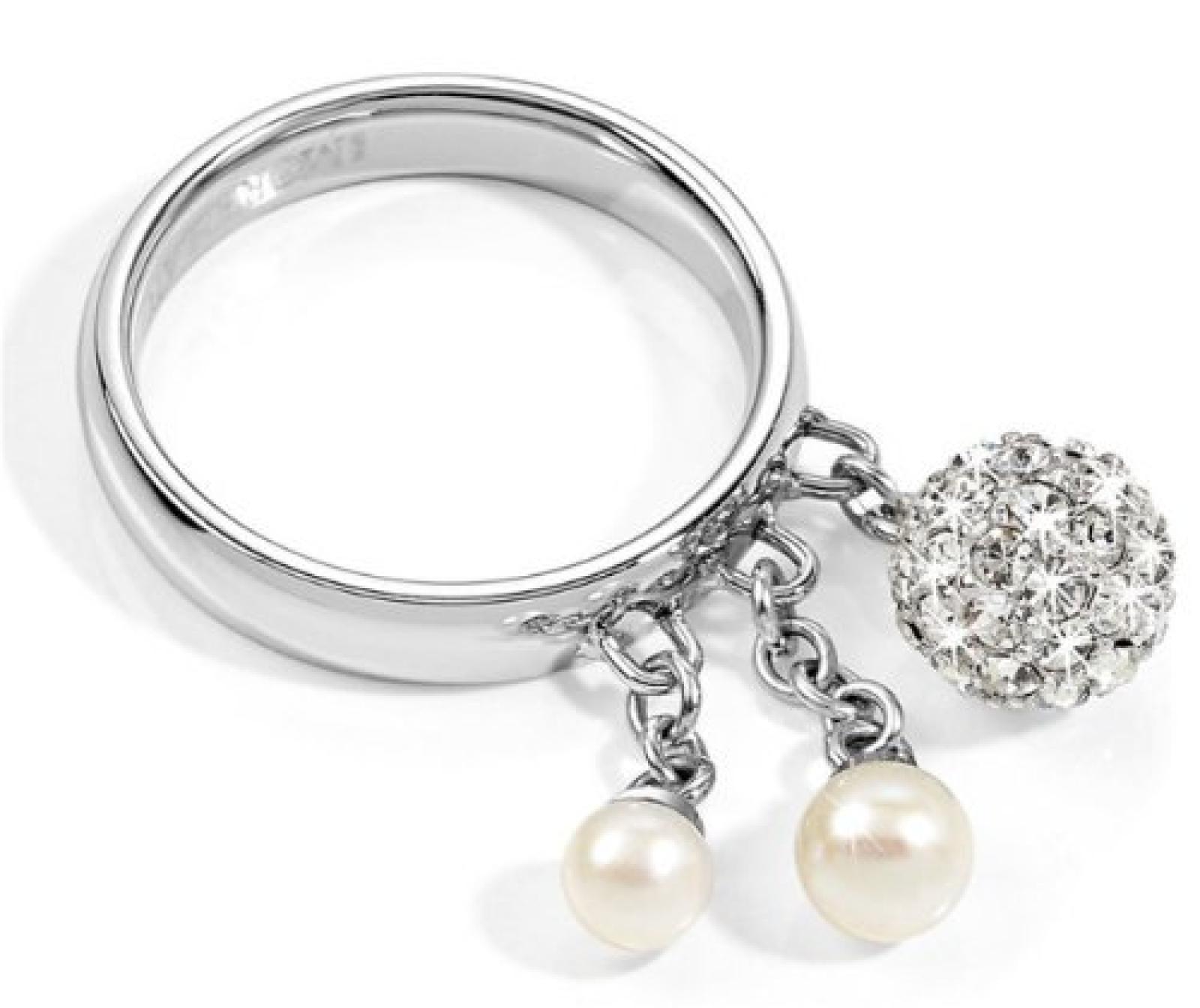 Morellato Damen-Ring Edelstahl silber Gr. SYQ07012