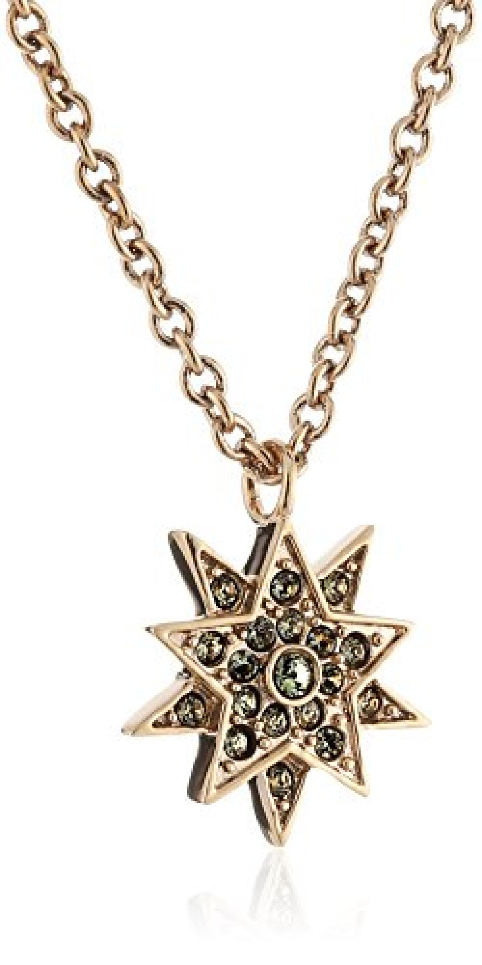 Dyrberg/Kern Damen Halskette Vergoldetes Metall Kristall Swarovski 336173