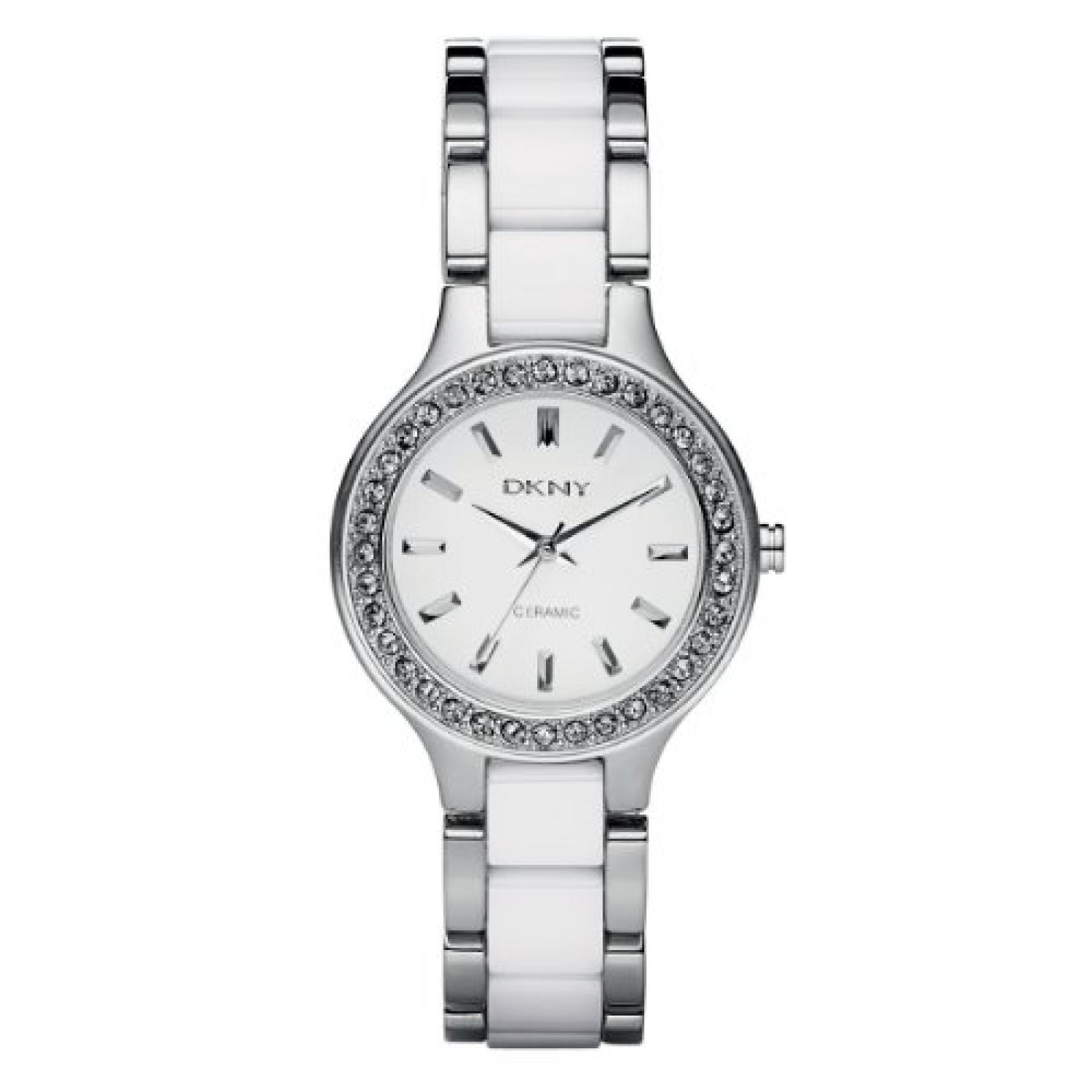DKNY Damen-Armbanduhr XS Analog Quarz verschiedene Materialien NY8139
