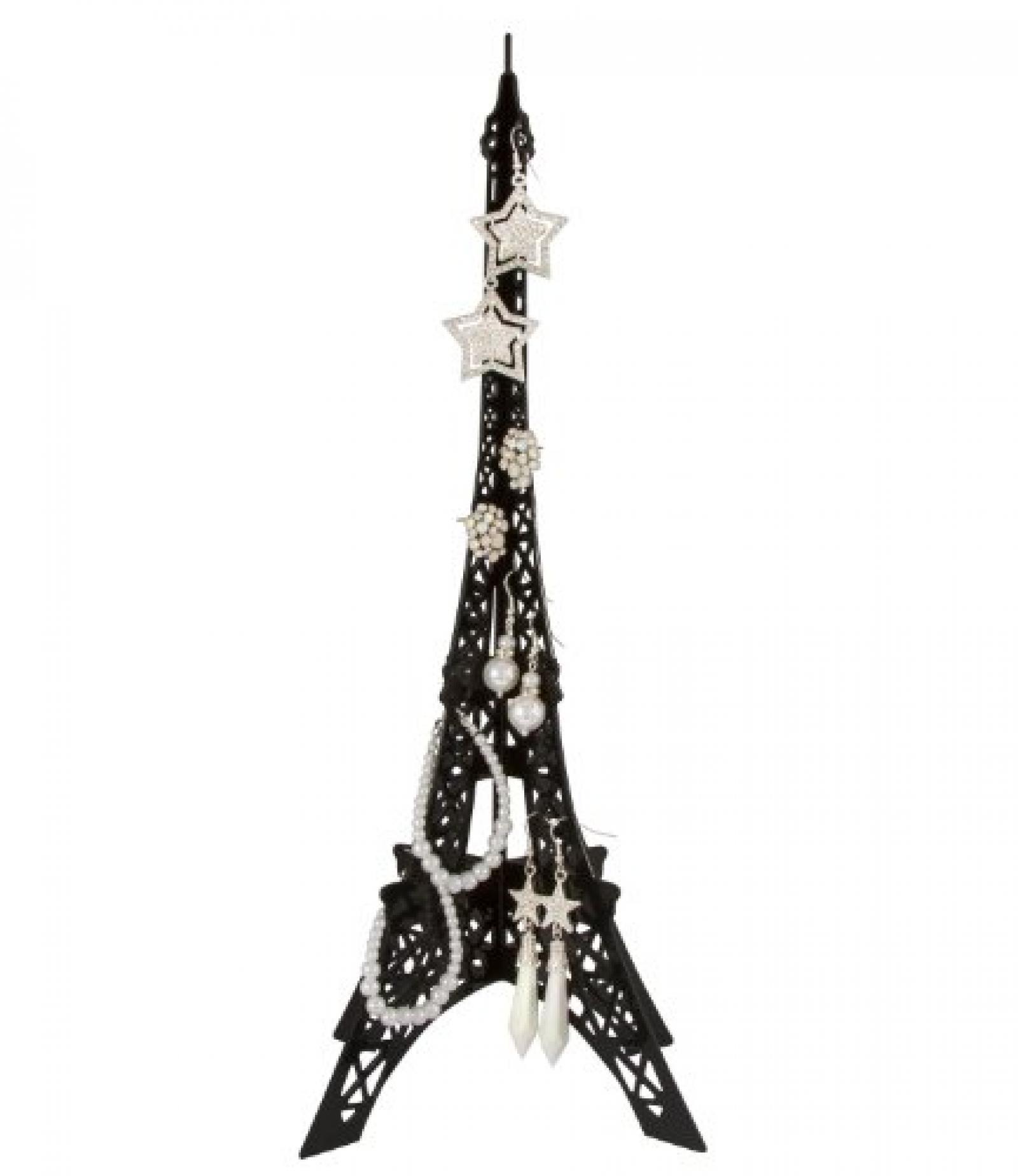 """SIX filigraner Schmuckständer """"Eiffelturm"""" aus schwarzem Metall (244-045)"""