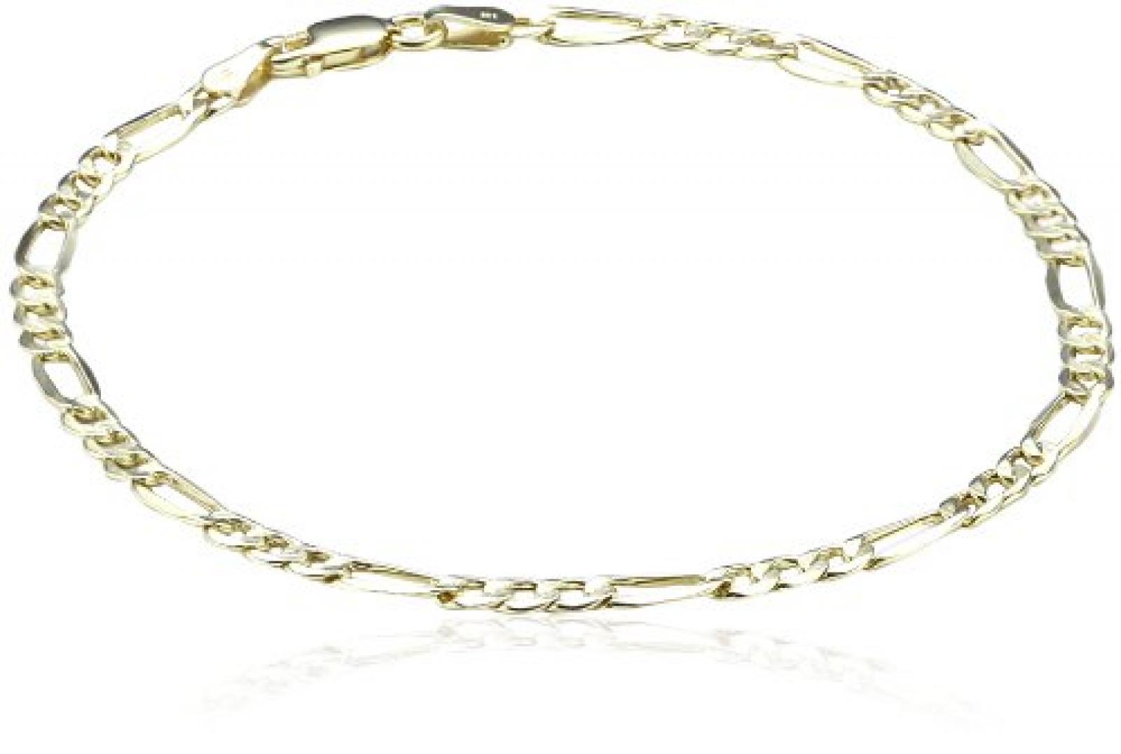 Amor Jewelry Unisex-Armband 8 Karat 333 Gelbgold 376143