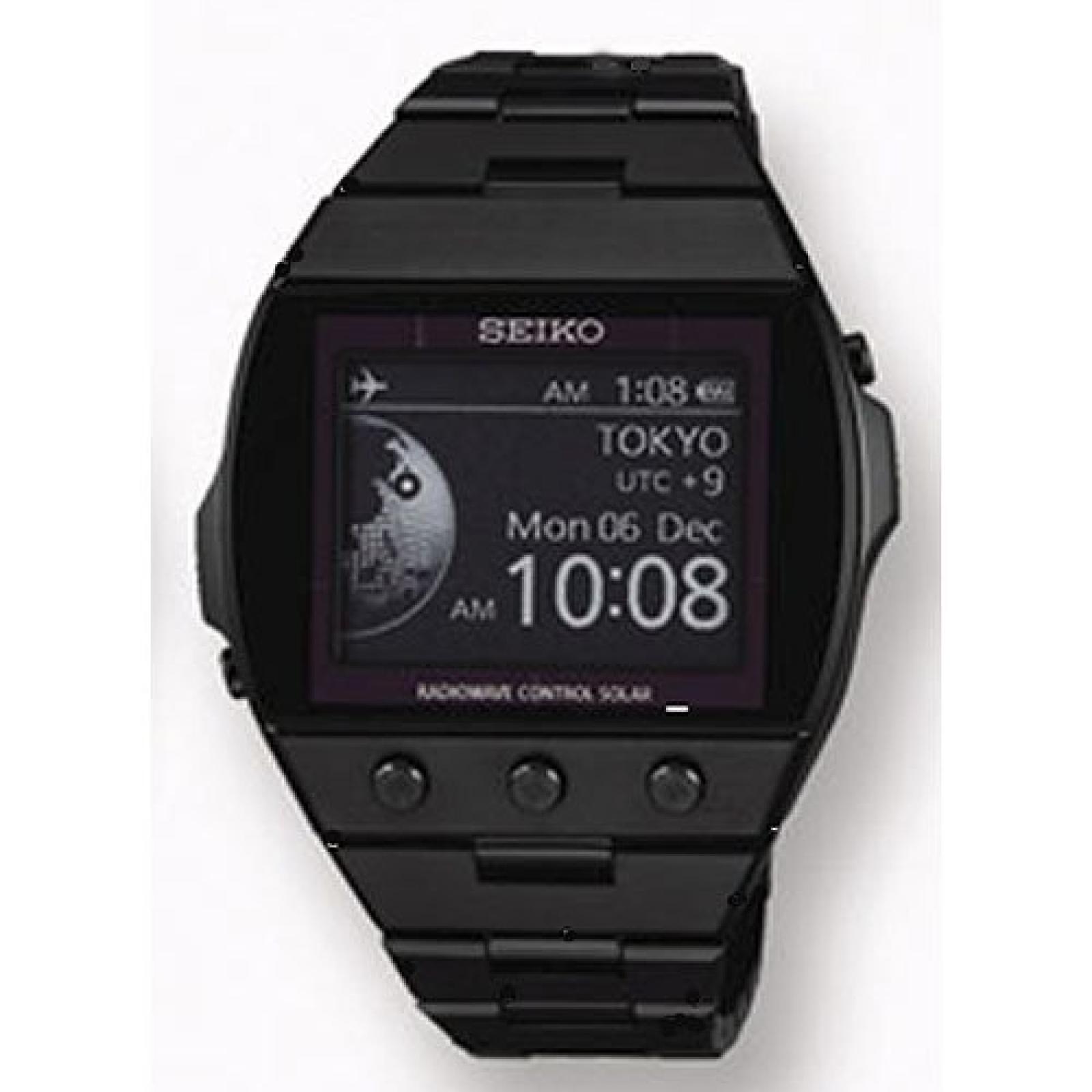 Uhr Seiko E-ink Sdga003j Unisex Kombiniert