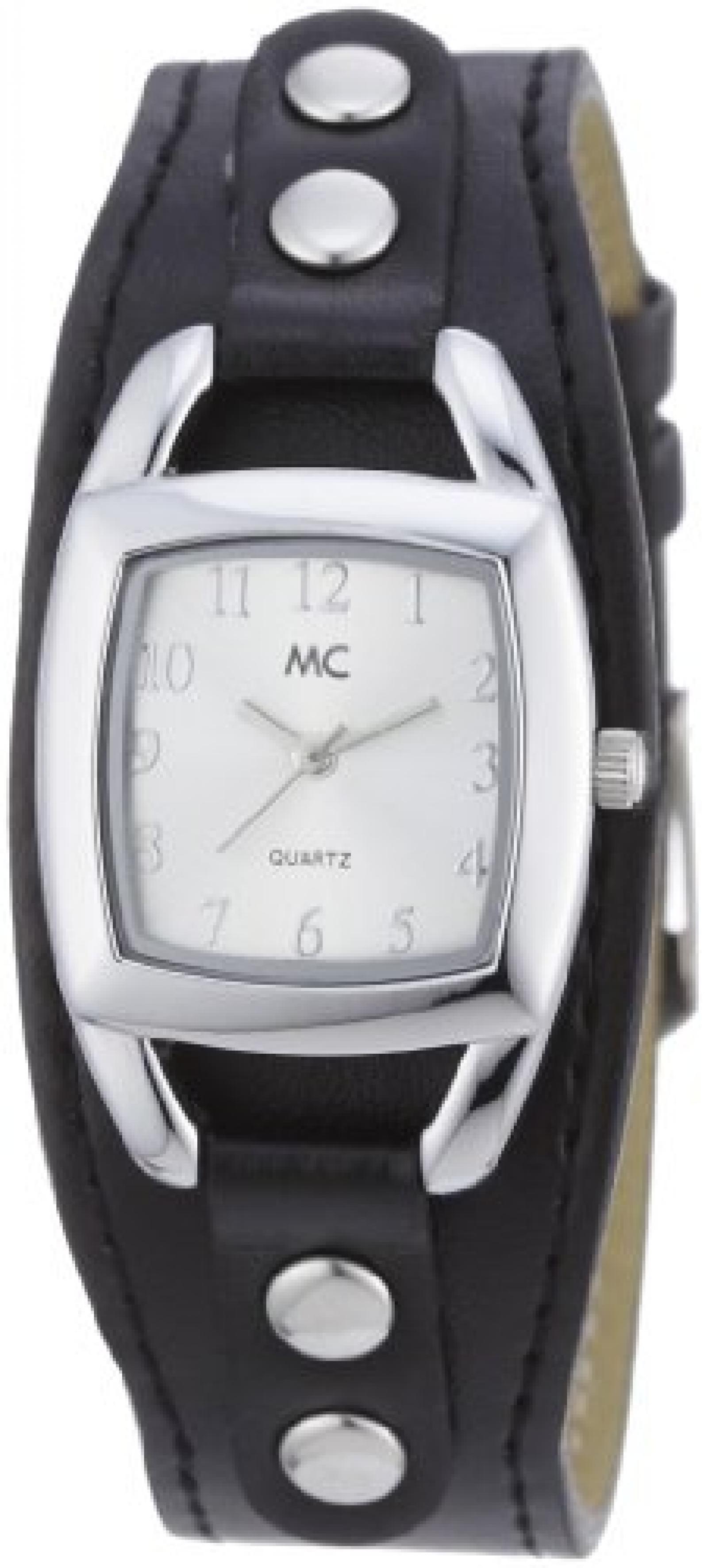 MC Timetrend Damen-Armbanduhr Analog Quarz Kunstleder 50090