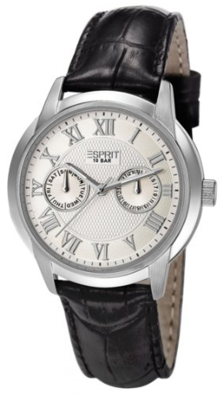 Esprit Damen-Armbanduhr Vister Analog Quarz Leder ES900741001