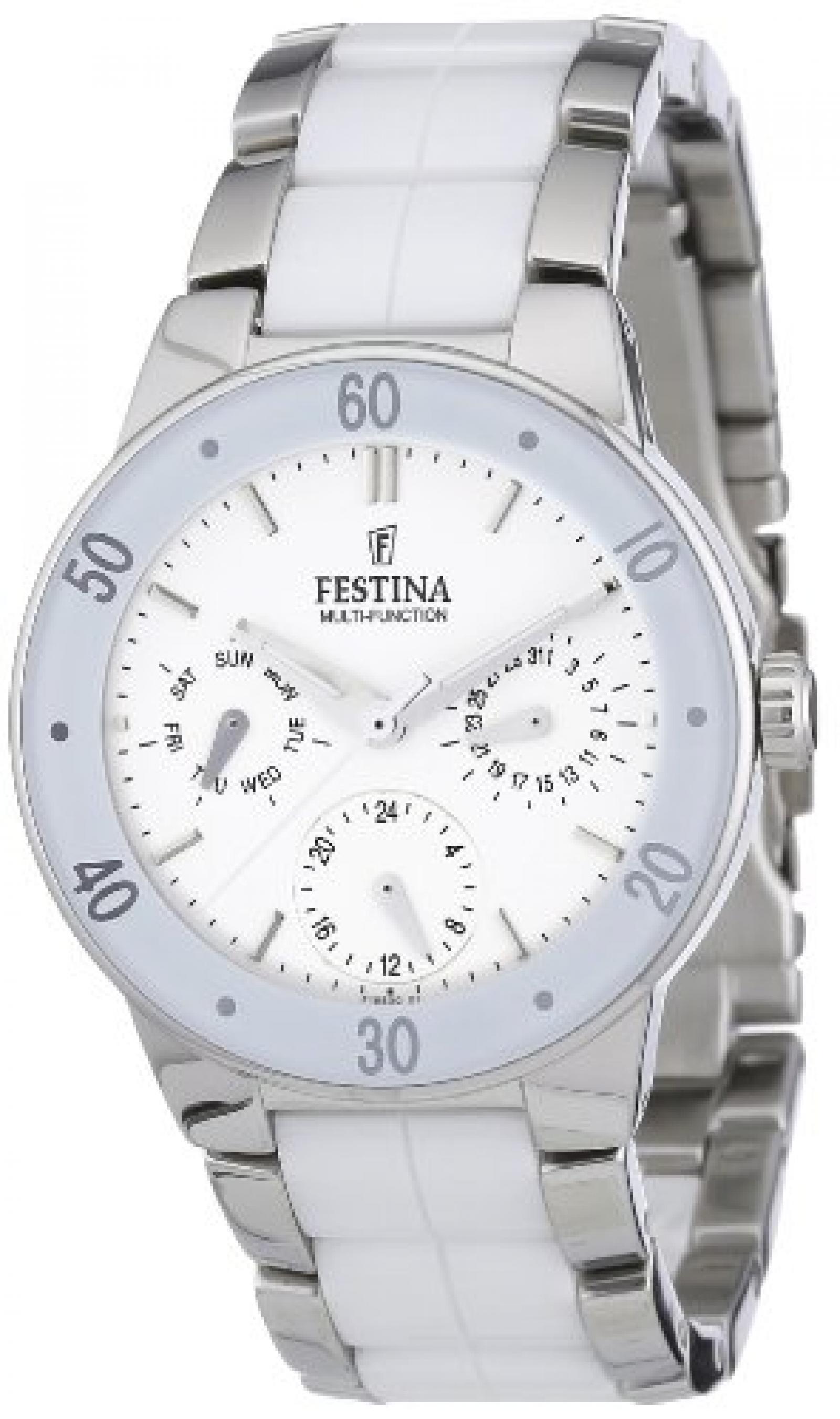 Festina Damen-Armbanduhr XS Analog Quarz Keramik F16530/1