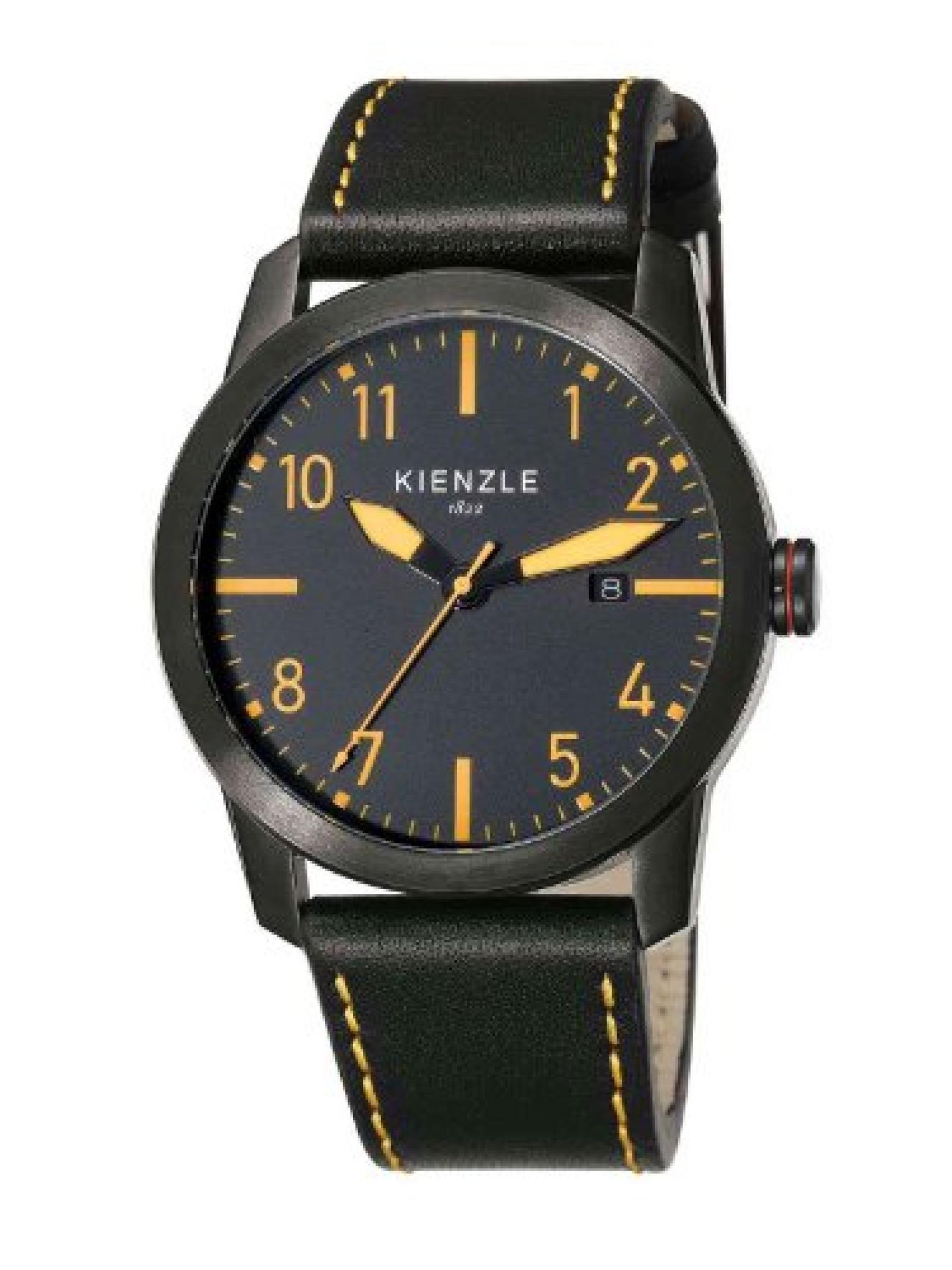 Kienzle Herren-Armbanduhr XL Analog Leder K3081043021