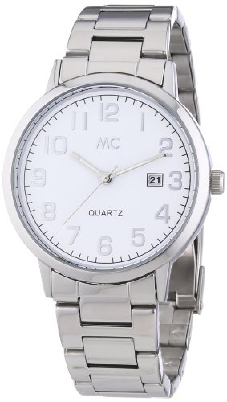 MC Timetrend Herren-Armbanduhr Analog Quarz Metallband 27180