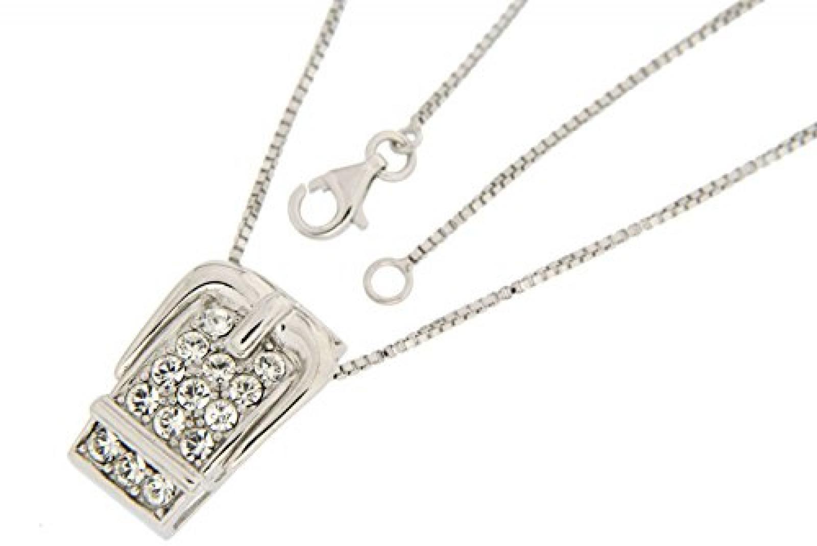 Kettenworld Damen-Kette Sterling-Silber 925 45cm FA454179245.0K