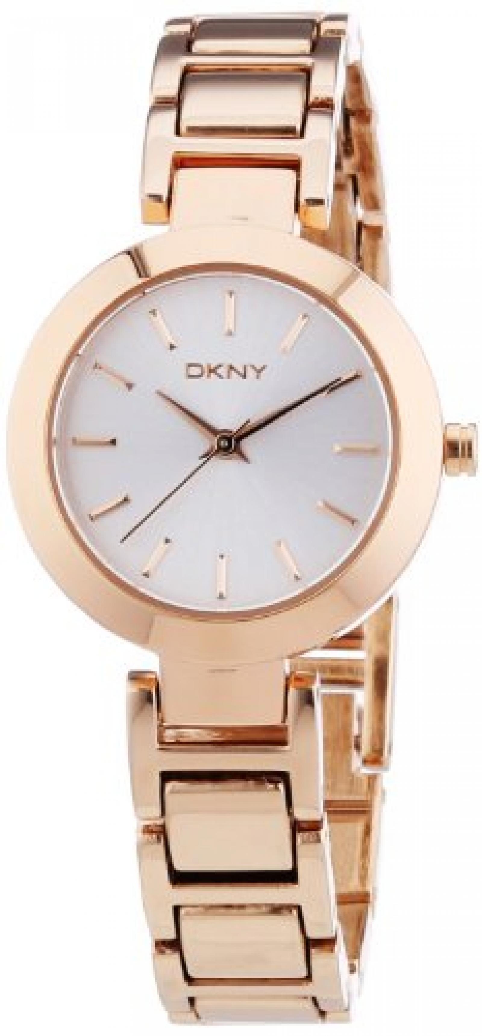 DKNY Damen-Armbanduhr XS Analog Quarz Edelstahl beschichtet NY8833
