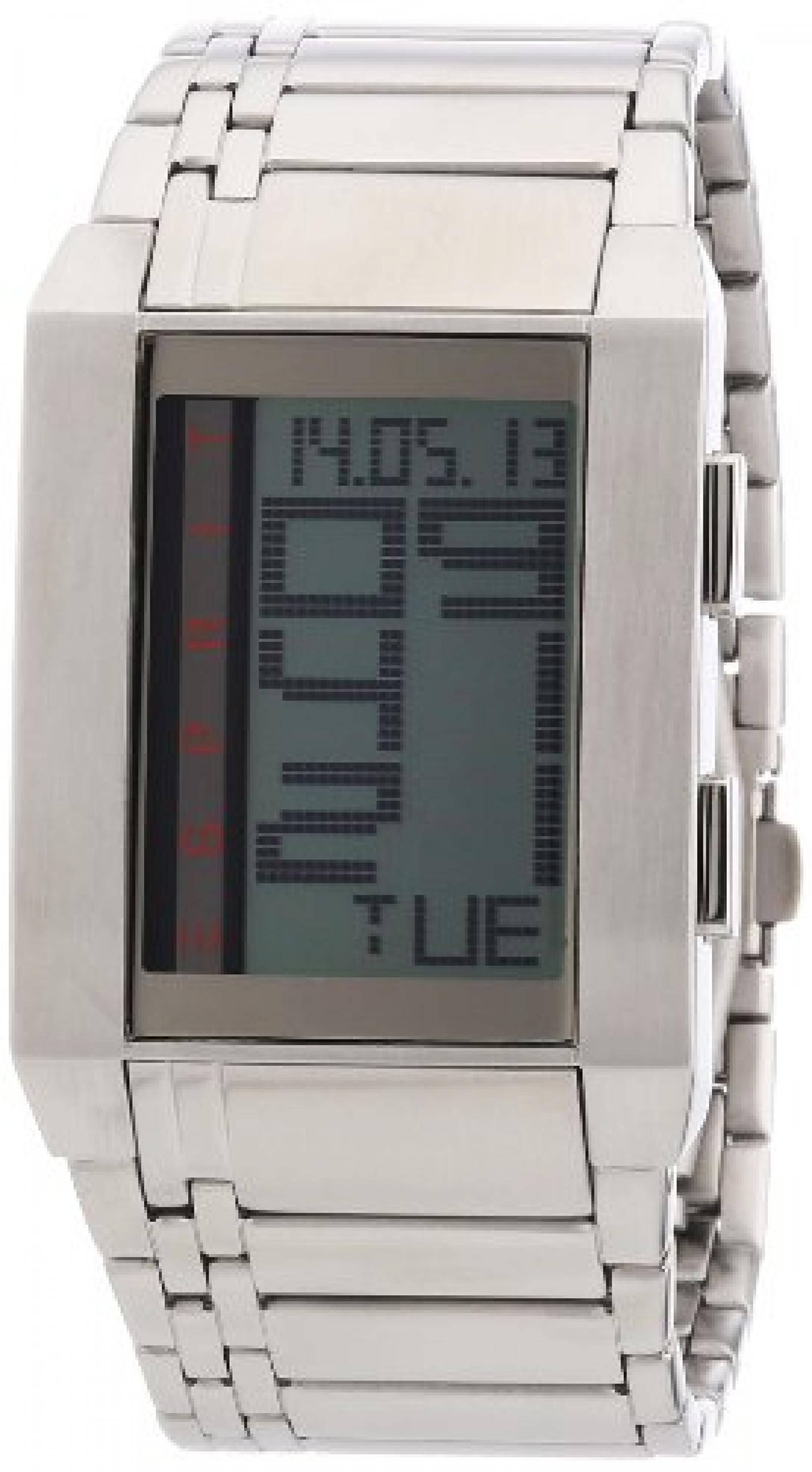 Esprit Herrenarmbanduhr future mission silver ES102071004