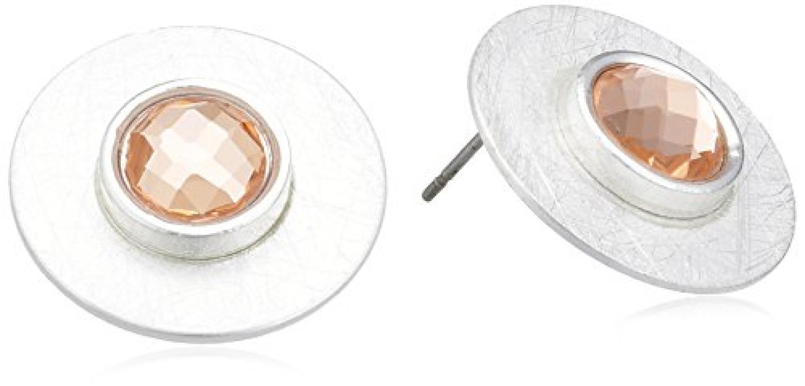 Sweet Deluxe Damen-Ohrstecker Niobe silber topaz Metall 2488