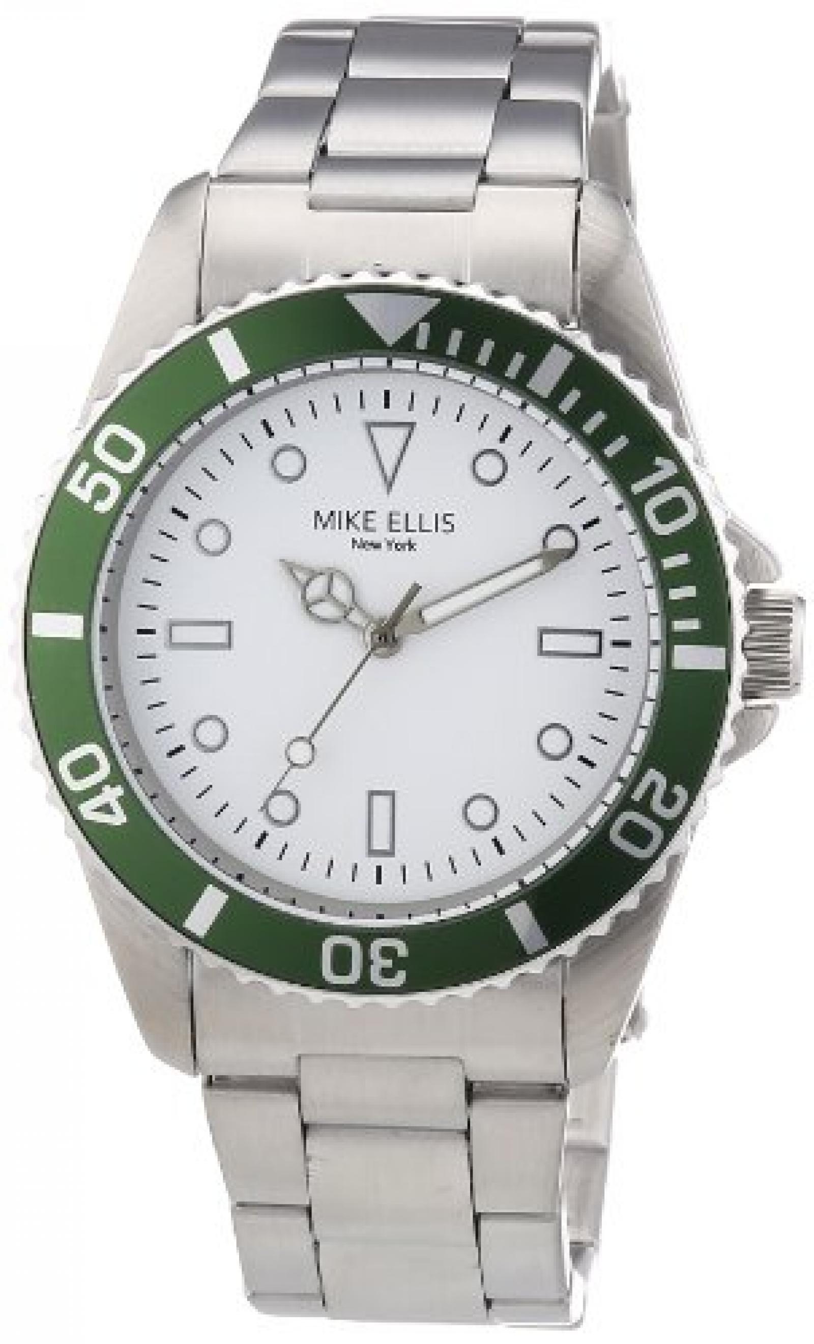 Mike Ellis New York Herren-Armbanduhr Analog Quarz M2969ASM/3