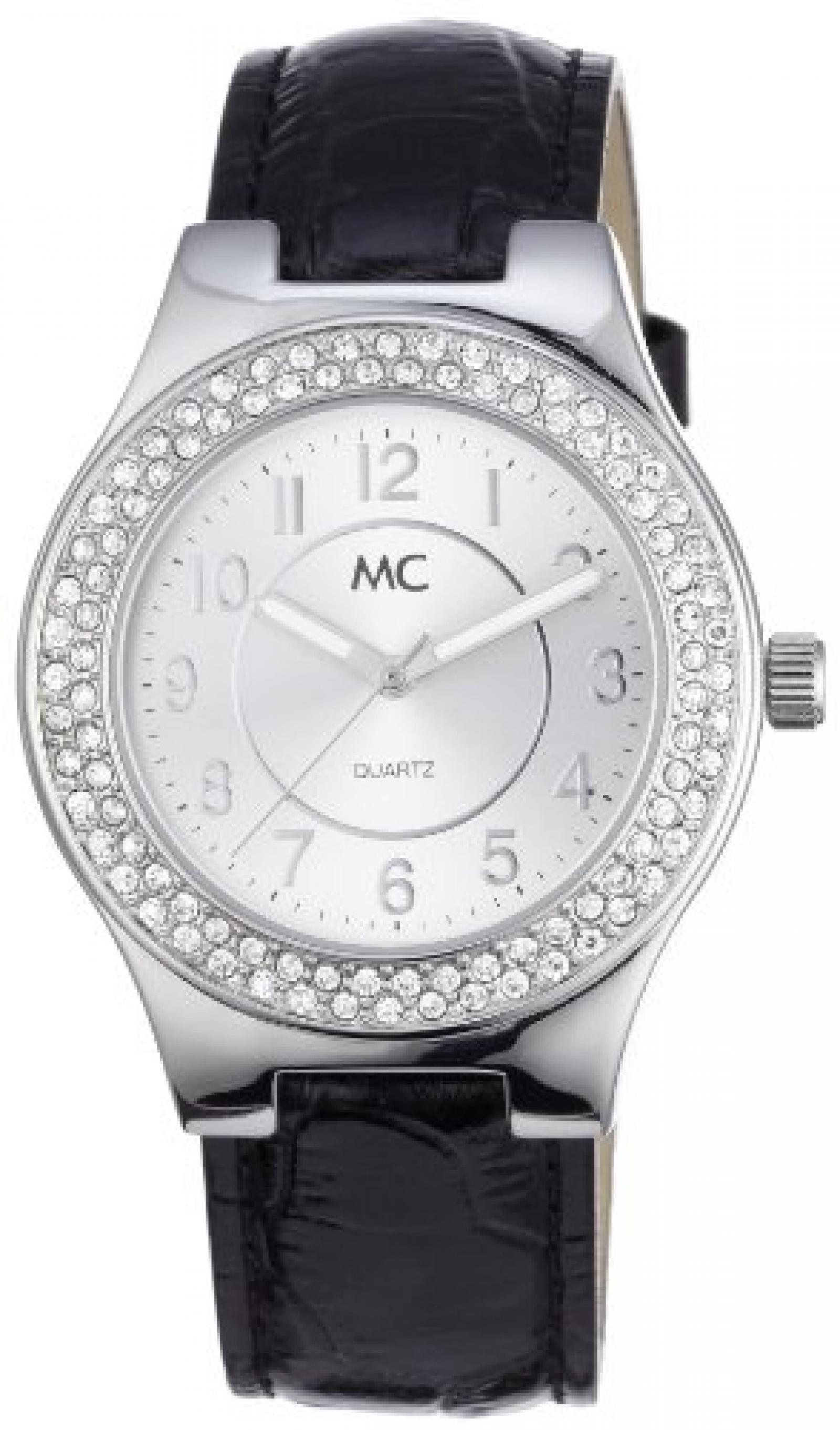 MC Timetrend Damen-Armbanduhr Analog Quarz Leder 50326