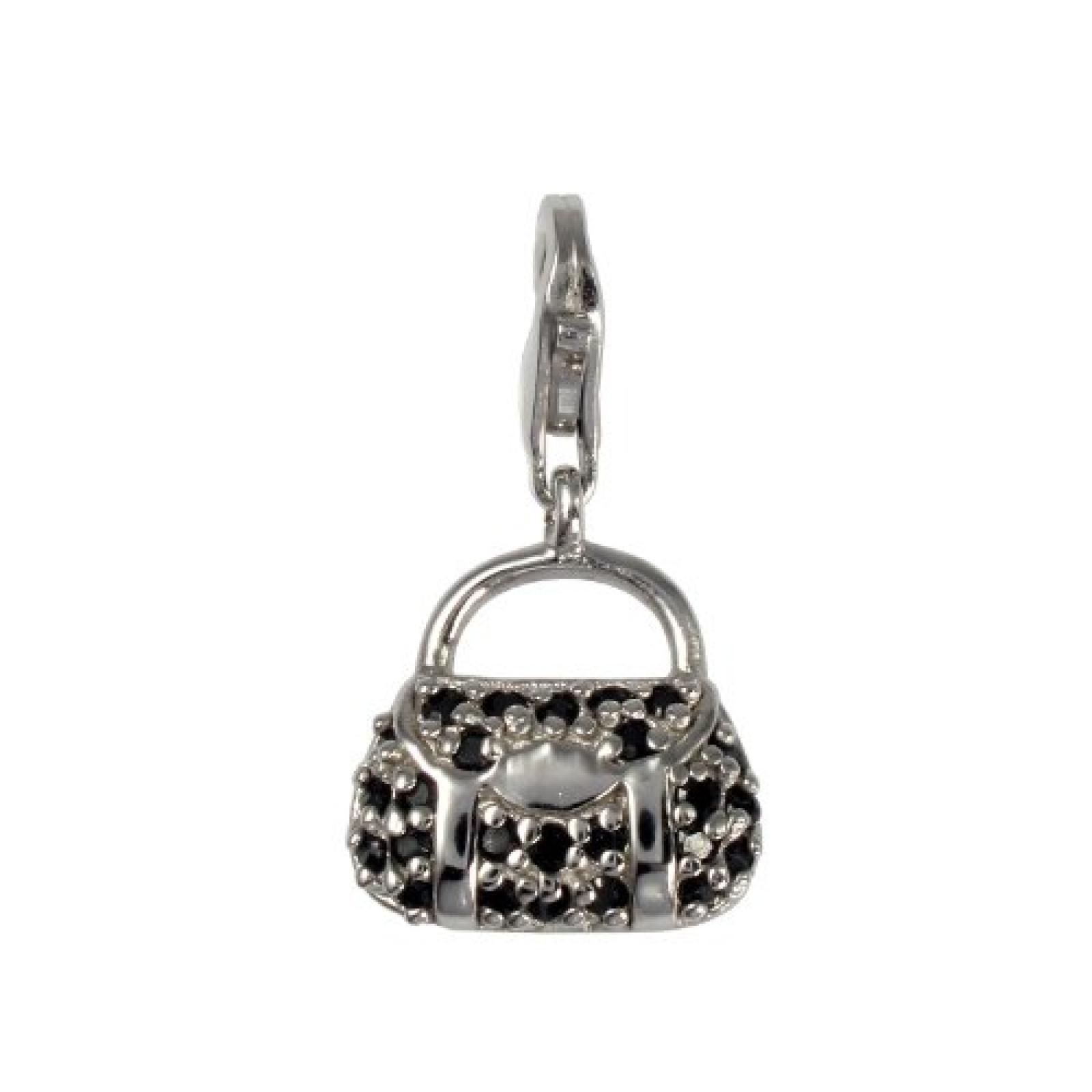 Amor Damen Handtasche-Charm  925 Sterlingsilber 20 mm 309301